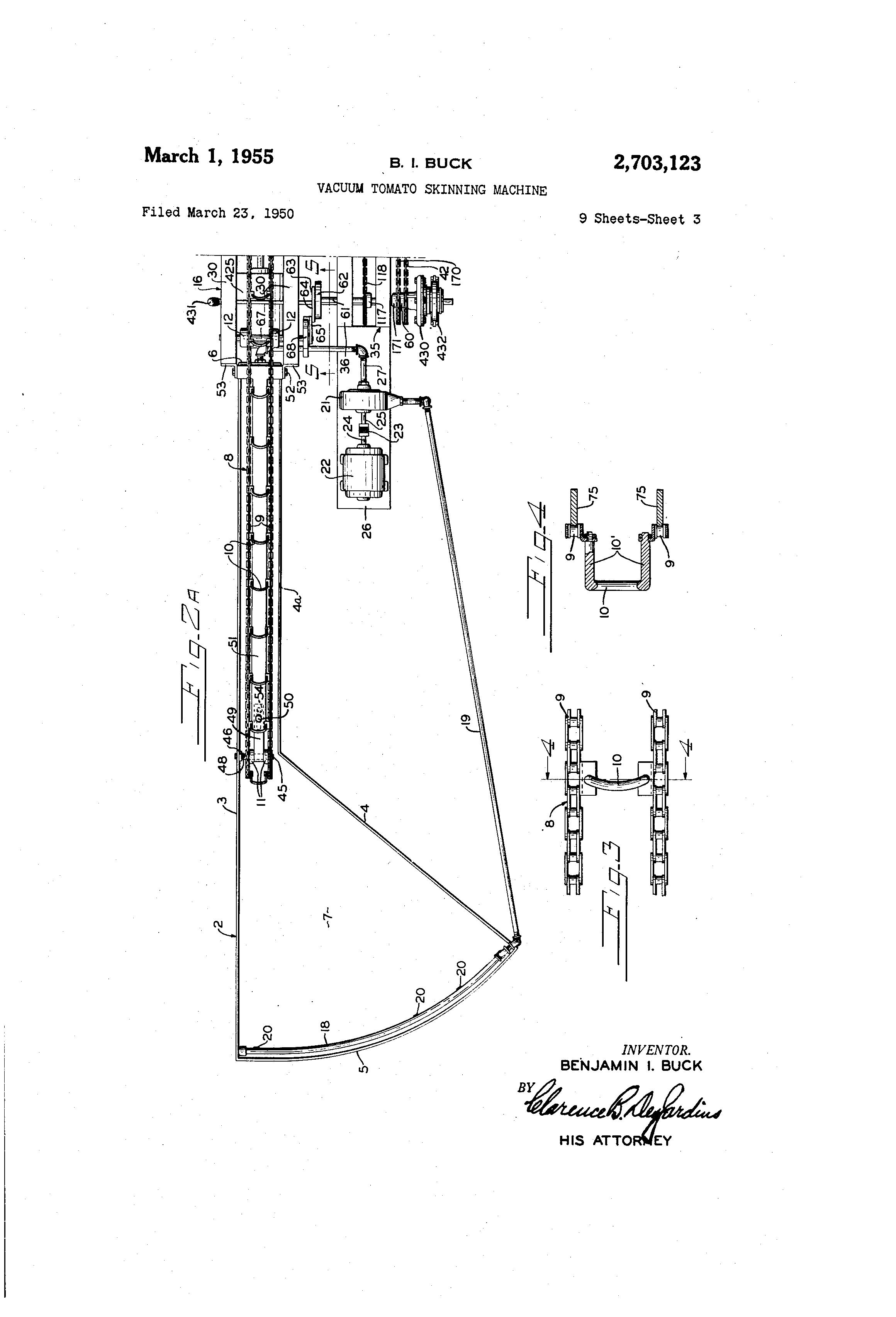 skinning machine plans