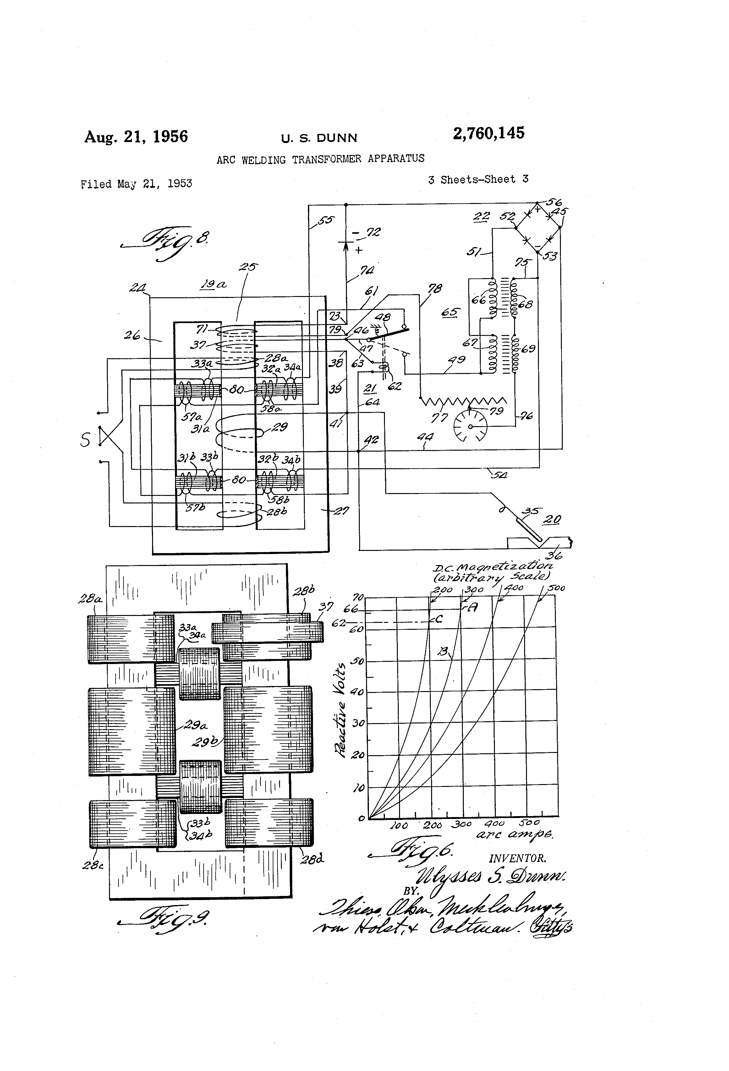 patent us2760145 - arc welding transformer apparatus ... arc welding process diagram arc welding transformer diagram