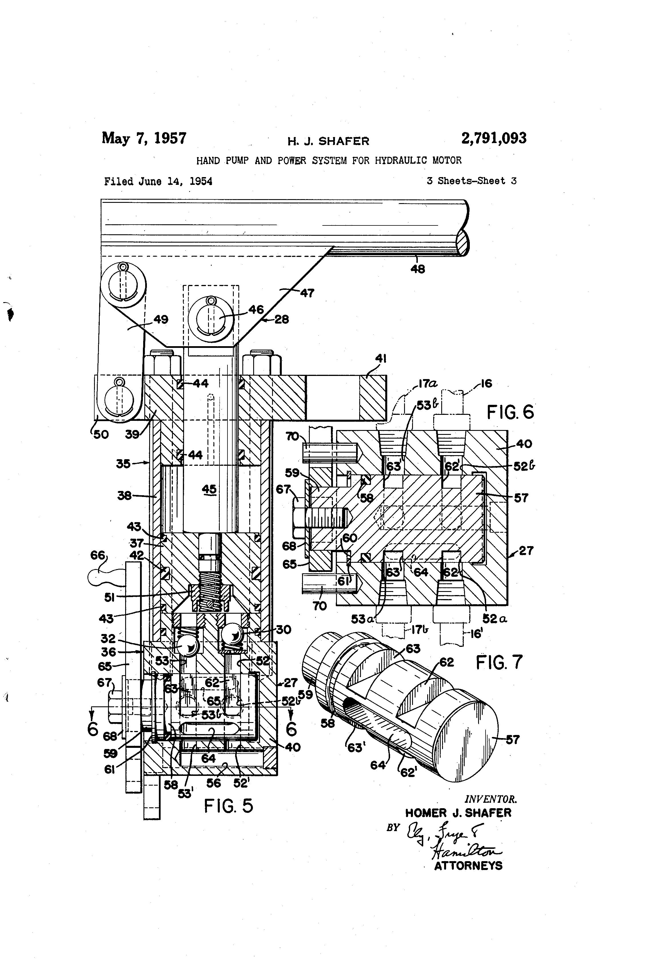 patent us2791093