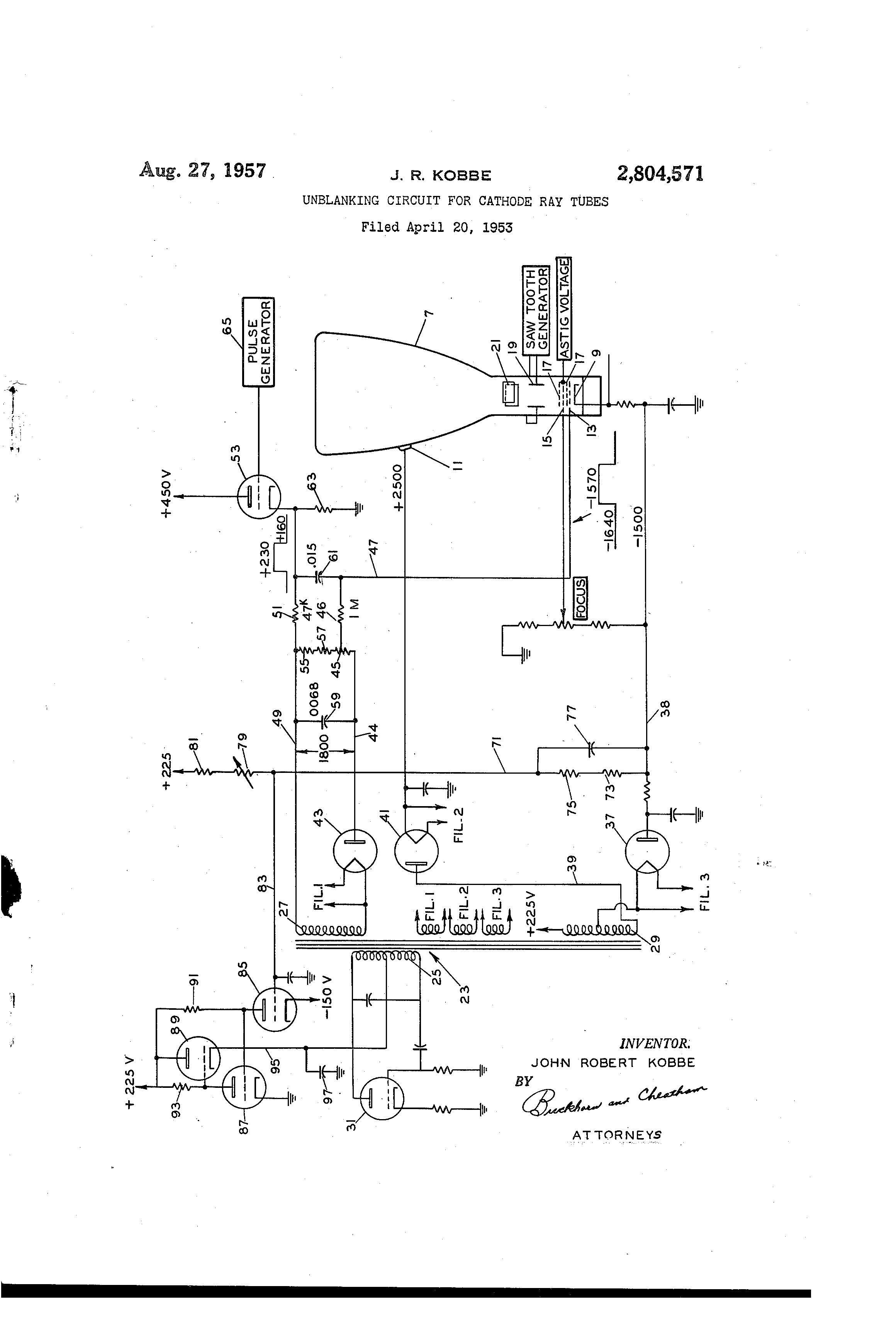 patent us2804571