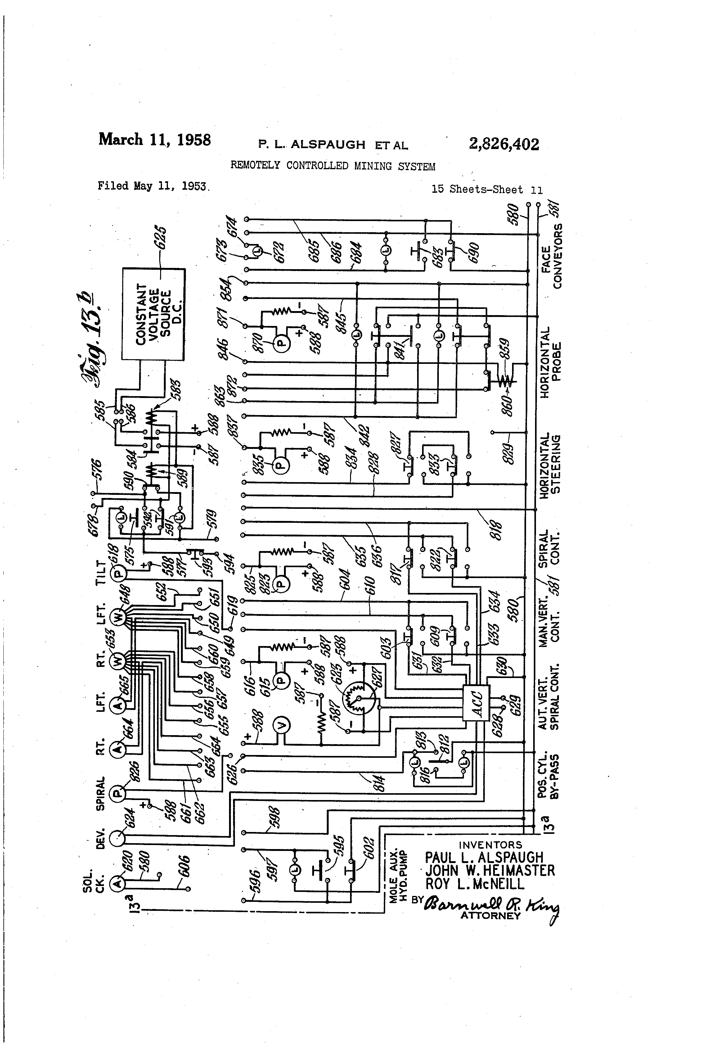 US2826402 10 wiring diagram cat 563 roller wiring diagram cat 563 roller with 3126 Caterpillar Wiring Diagrams at mifinder.co