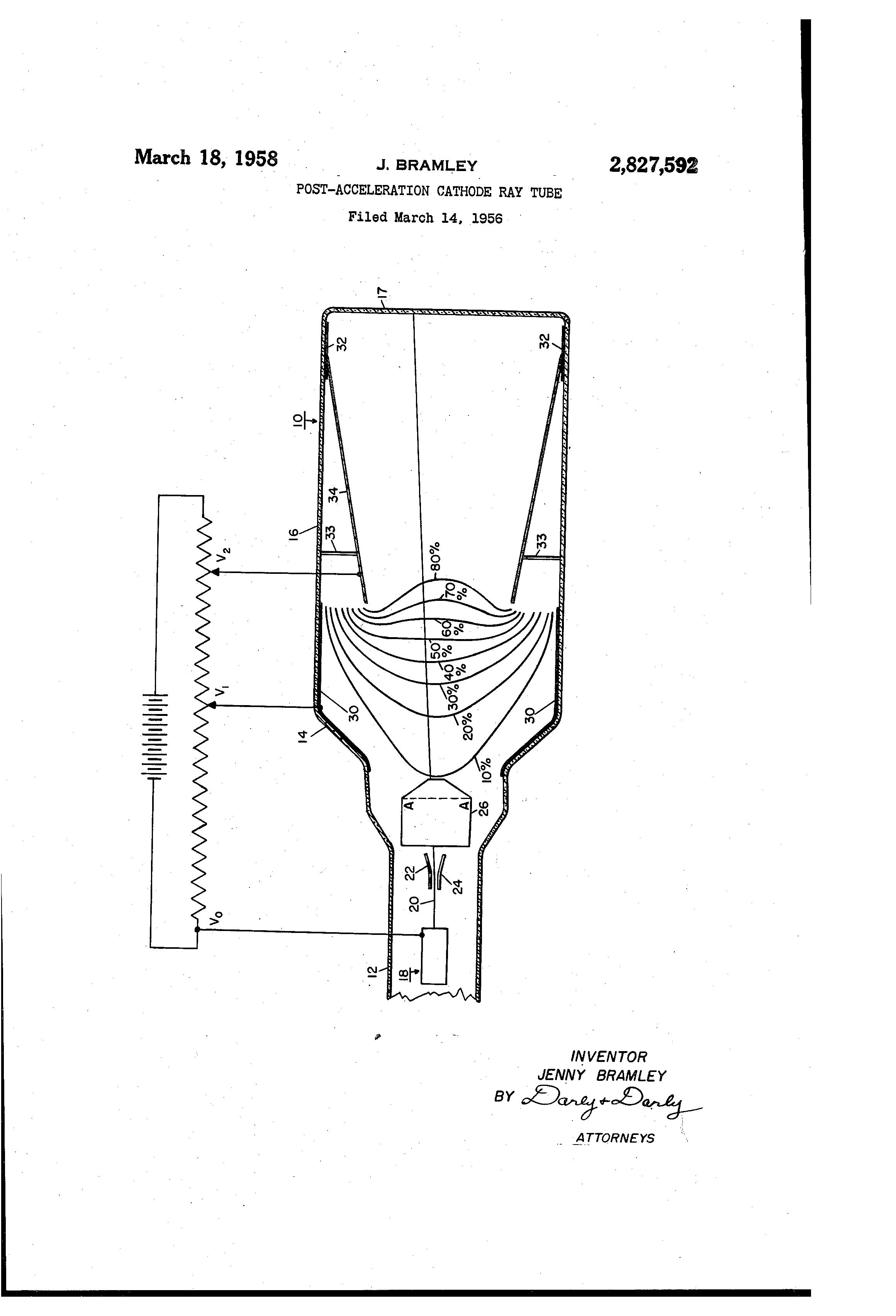 patent us2827592