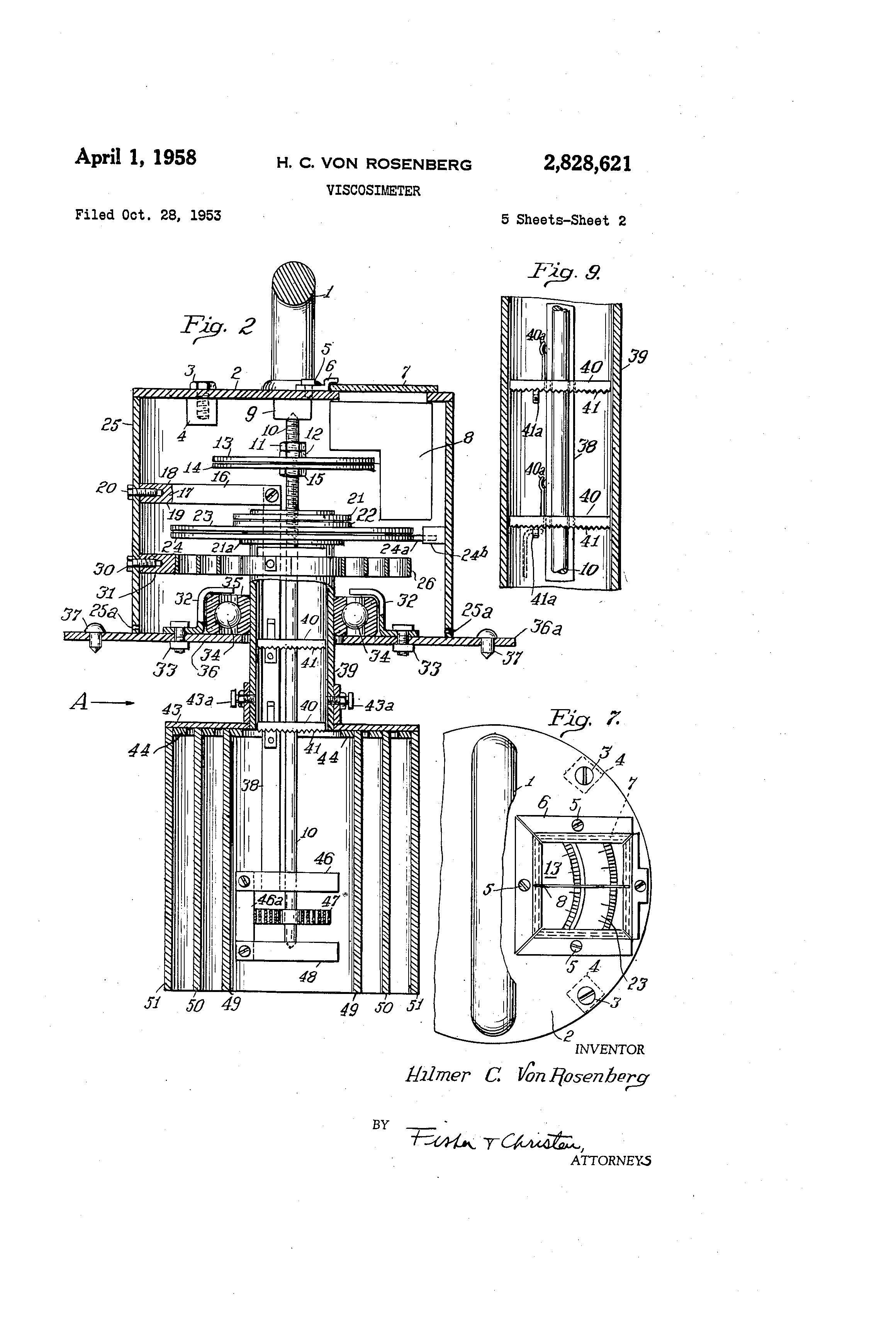 Patent US2828621 - Viscosimeter - Google Patents