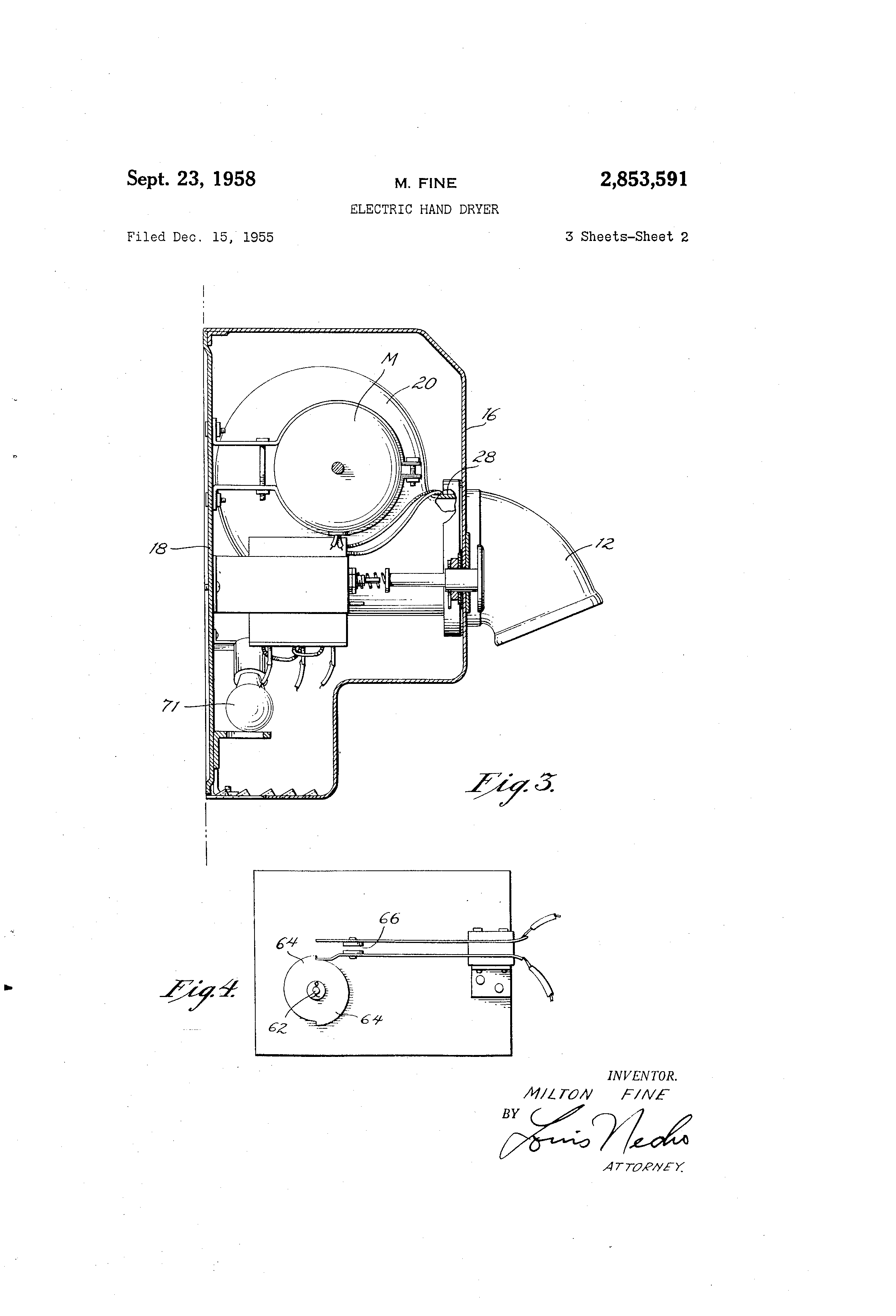 US2853591 1 patent us2853591 electric hand dryer google patents mondeo fuse box at mifinder.co
