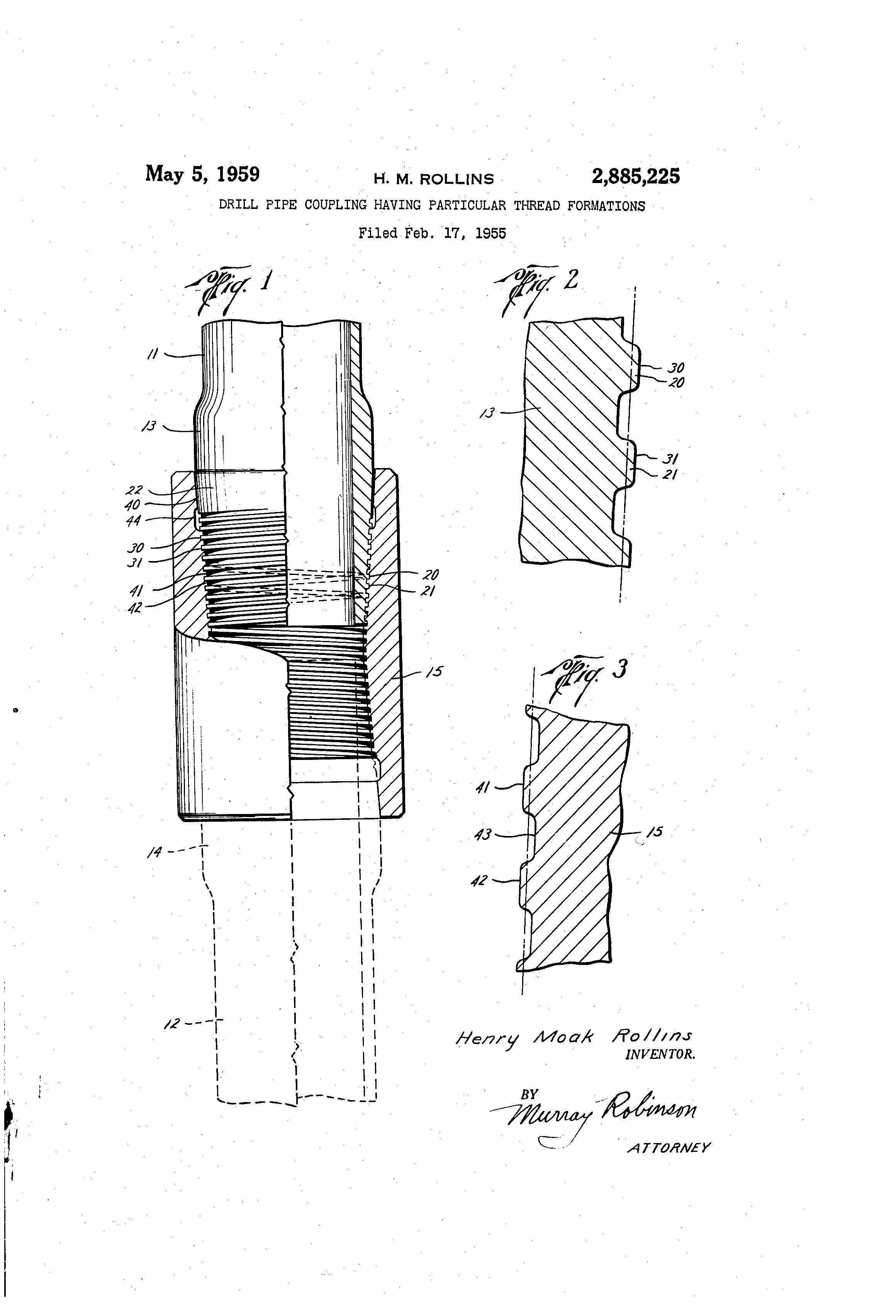 Patent us drill pipe coupling having particular