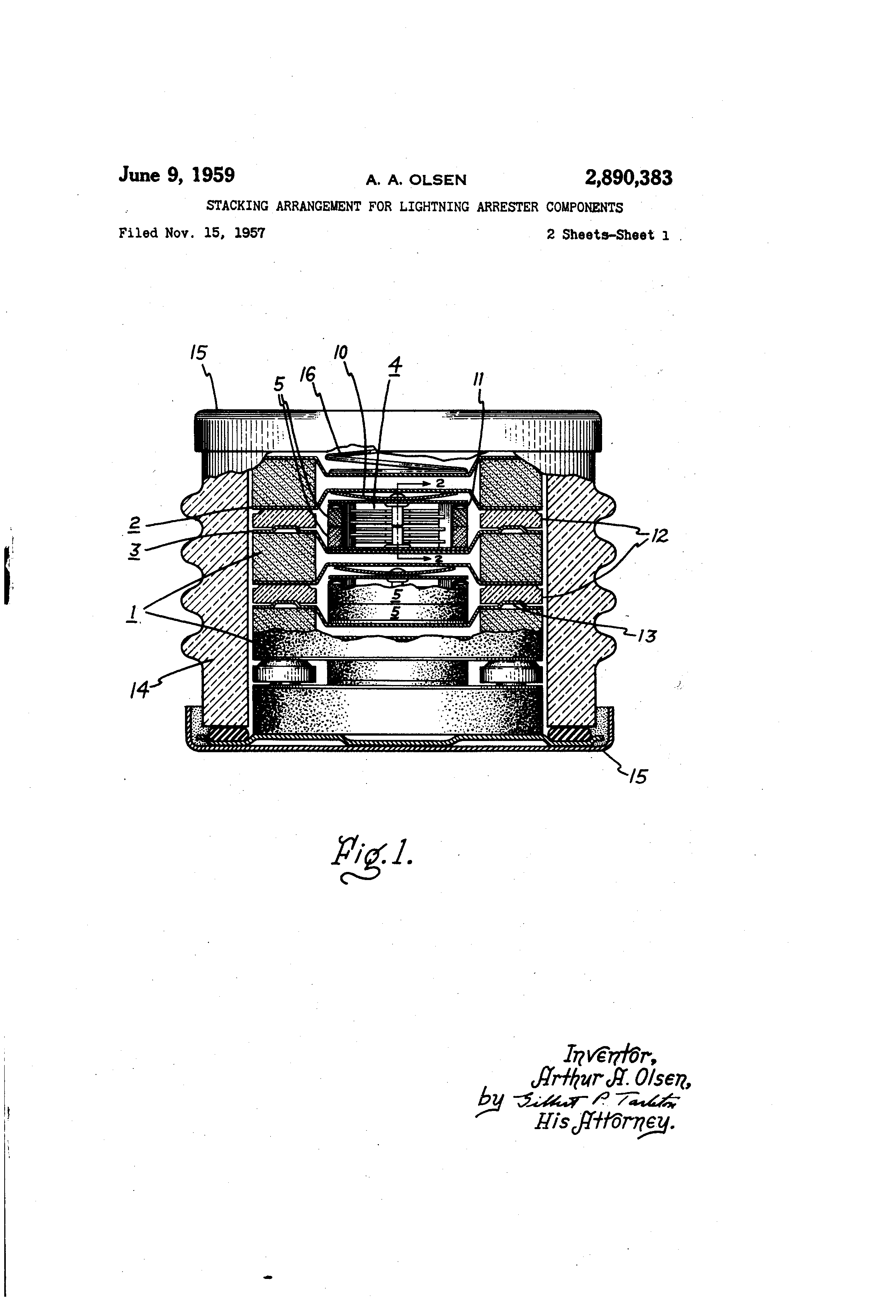Diagram Of Lighting Arrester