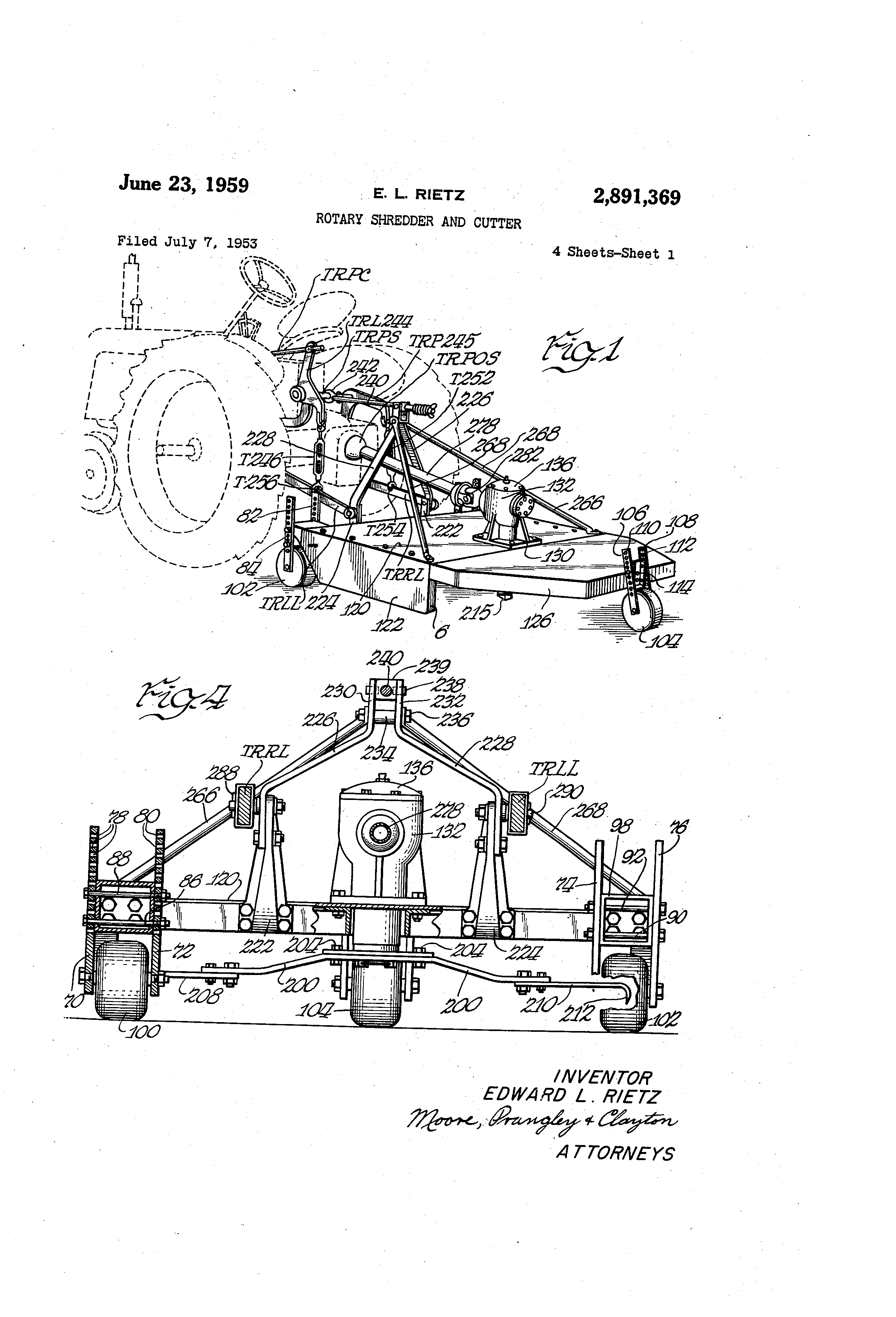 US2891369 0 patent us2891369 rotary shredder and cutter google patents  at reclaimingppi.co