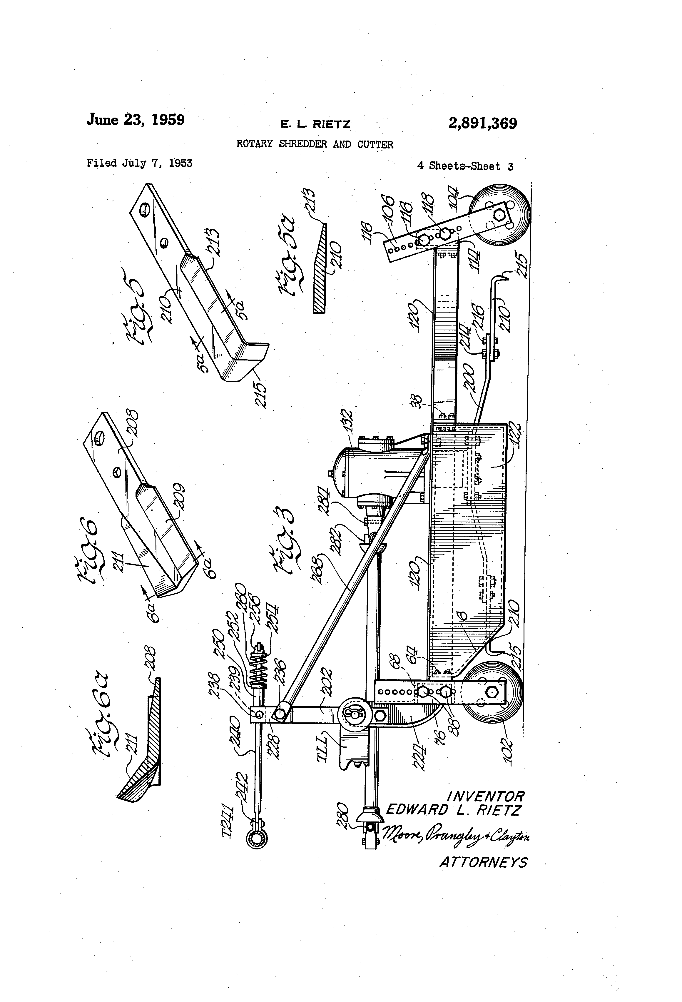 US2891369 2 patent us2891369 rotary shredder and cutter google patents  at reclaimingppi.co