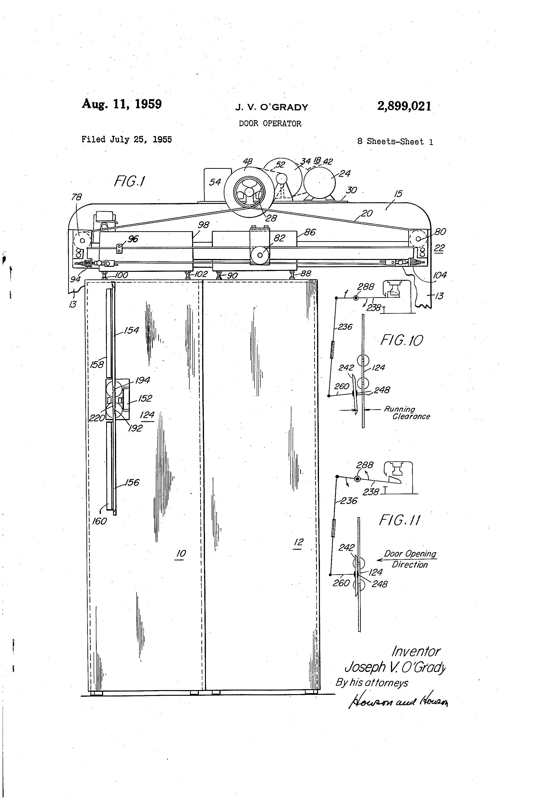 US2899021 0 patent us2899021 door operator google patents dover elevator wiring diagrams at fashall.co