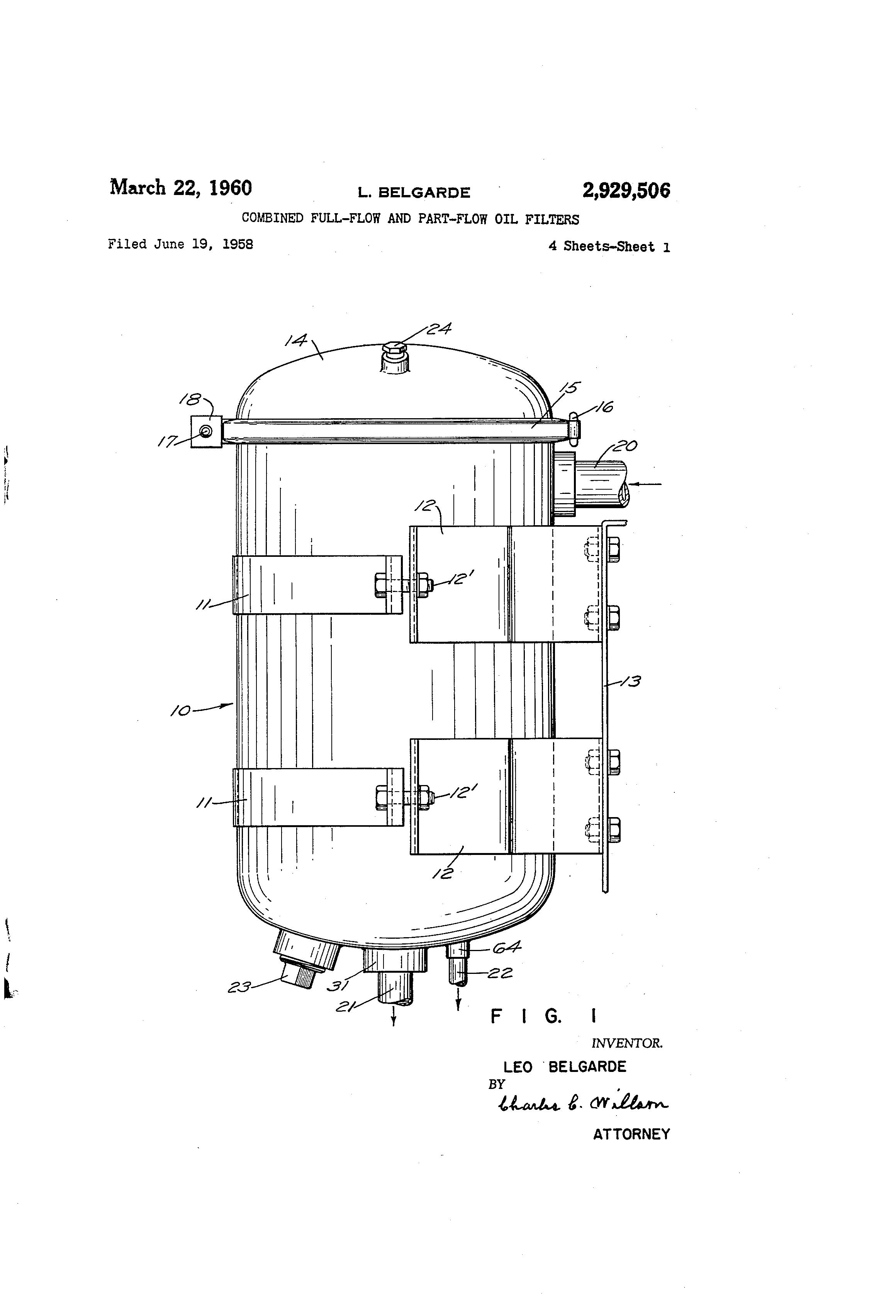 patent us2929506