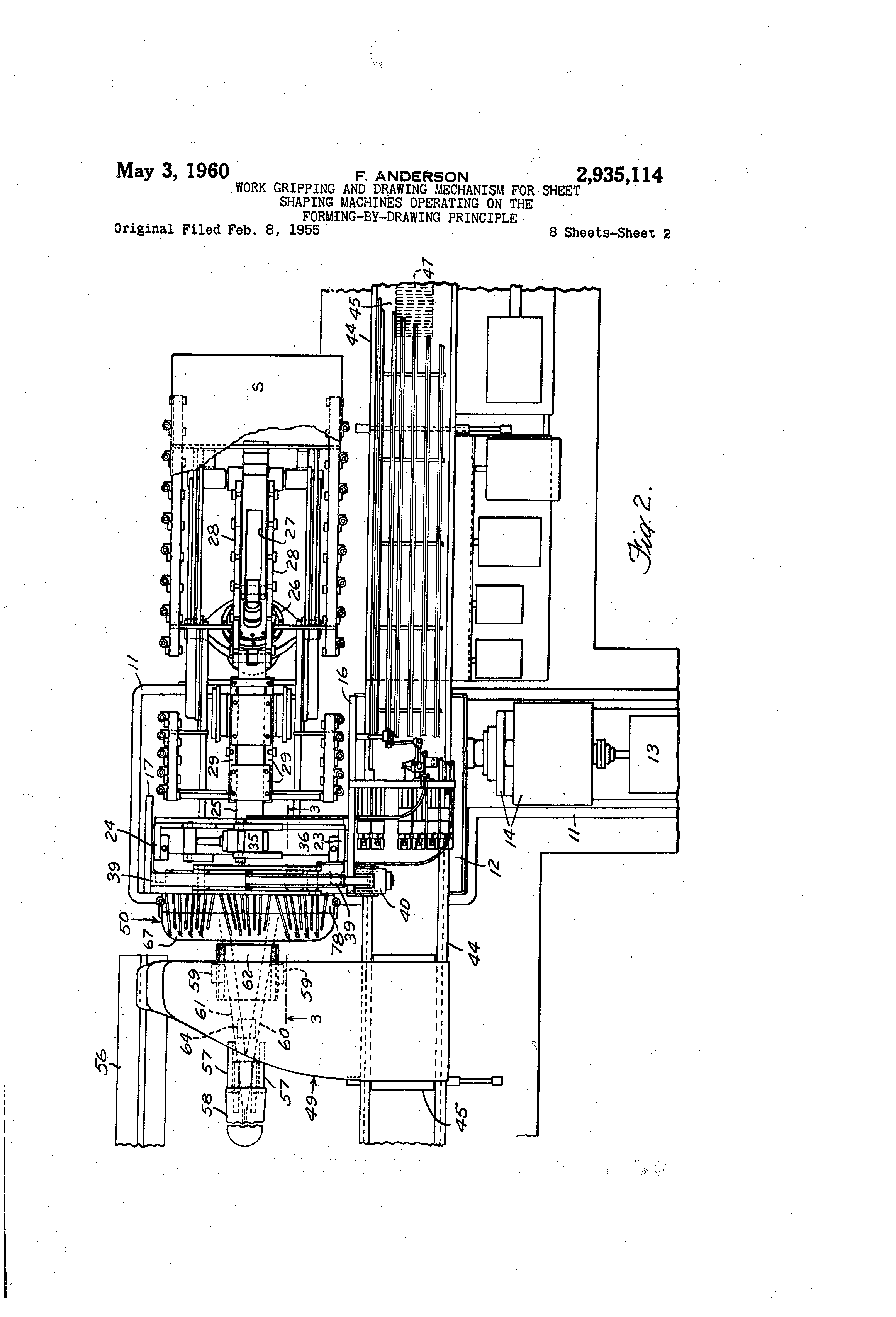 Patent US Work Gripping And Drawing Mechanism For Sheet - Pla relay working principle