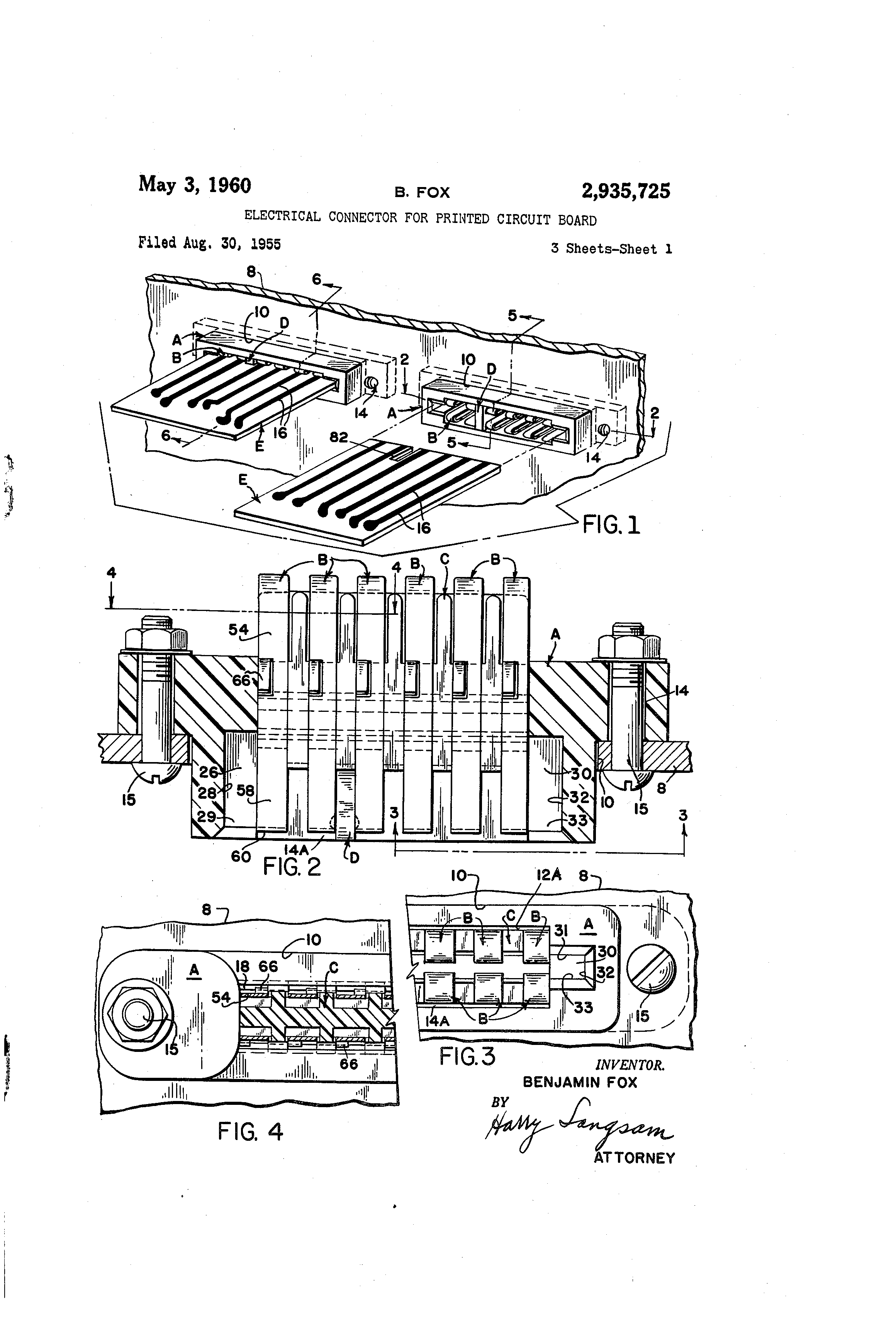 patent us2935725