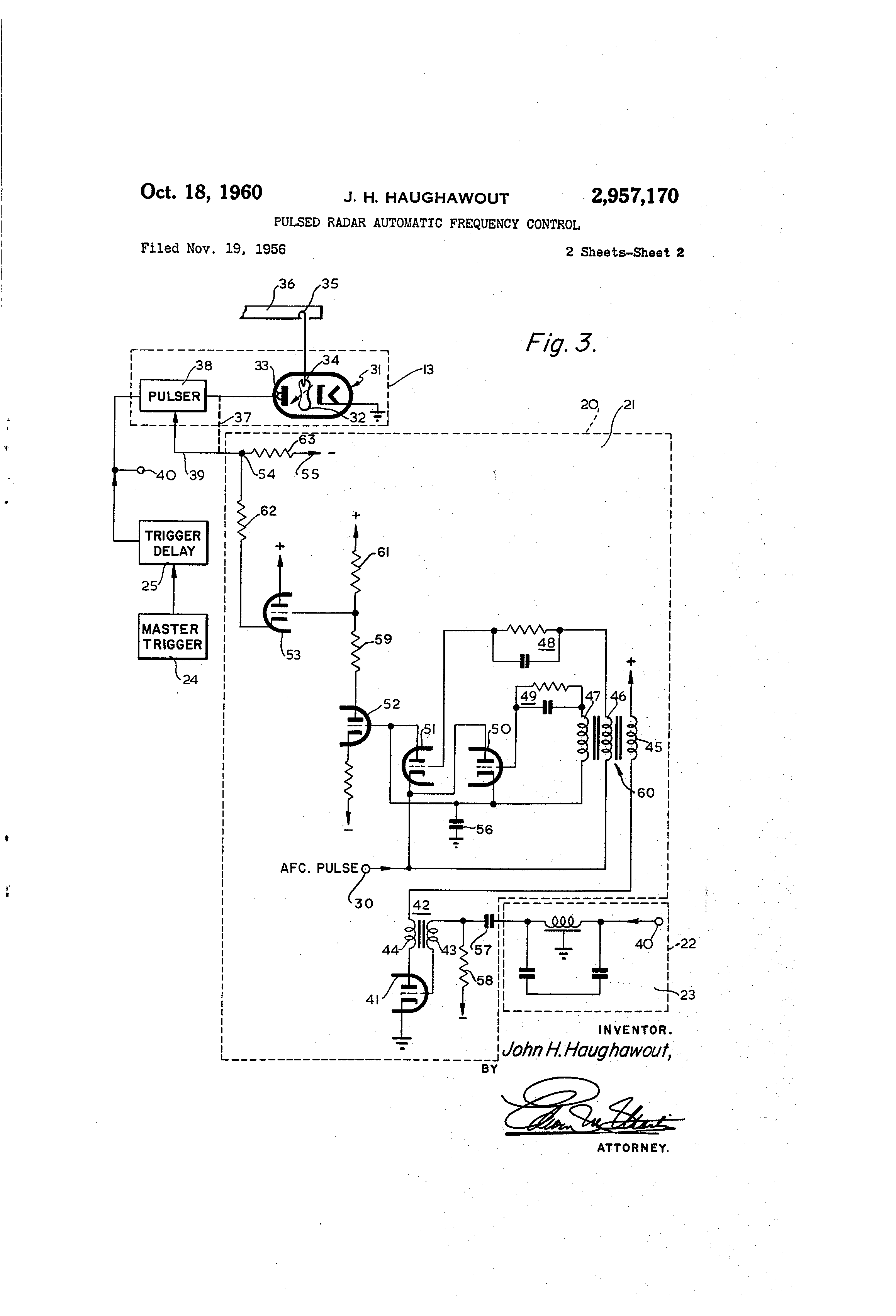 US2957170 1 ey john radar wiring diagram ey wiring diagrams collection  at gsmportal.co