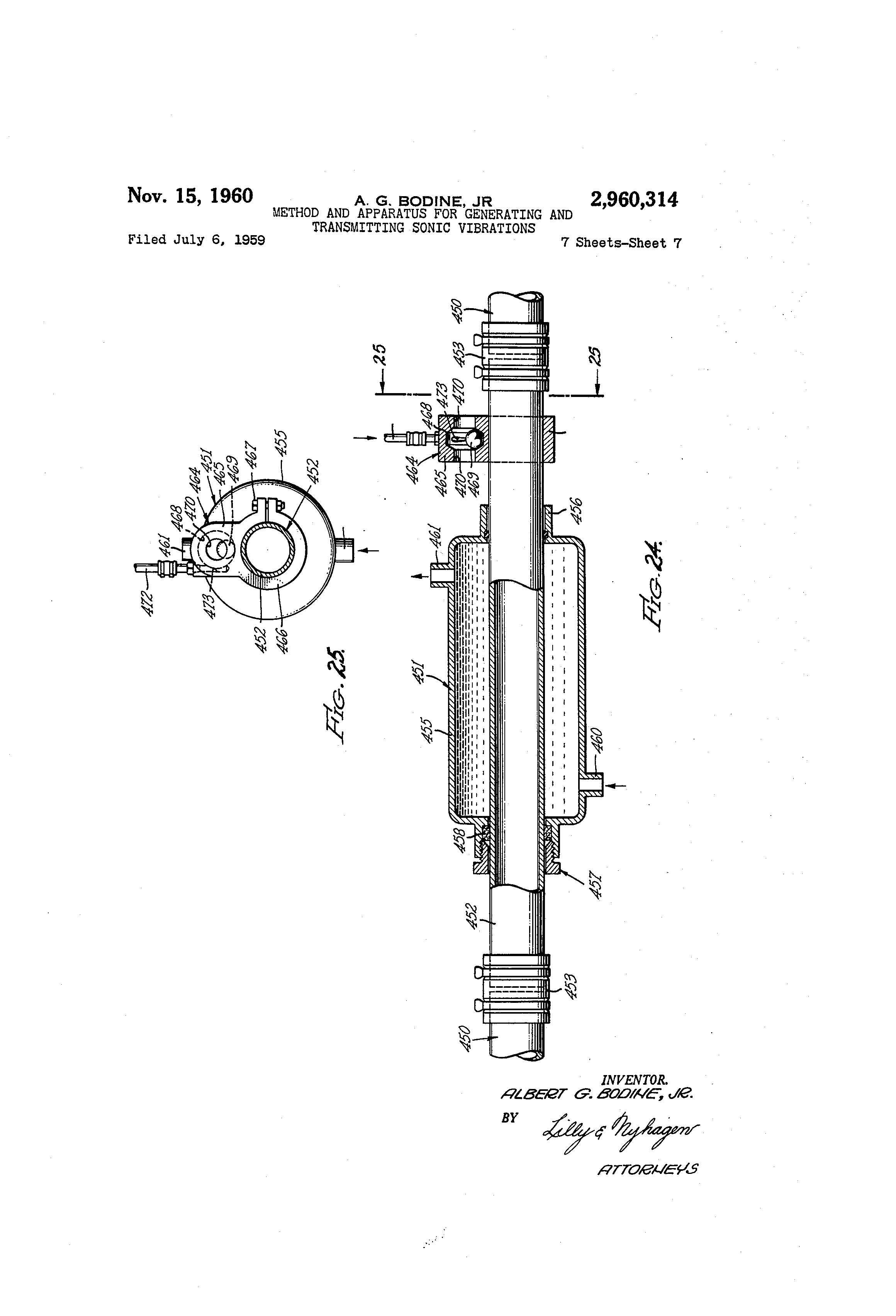 Patent Us2960314 Method And Apparatus For Generating Dc Motor Brushes Replacement Besides Bodine Wiring Diagram Drawing