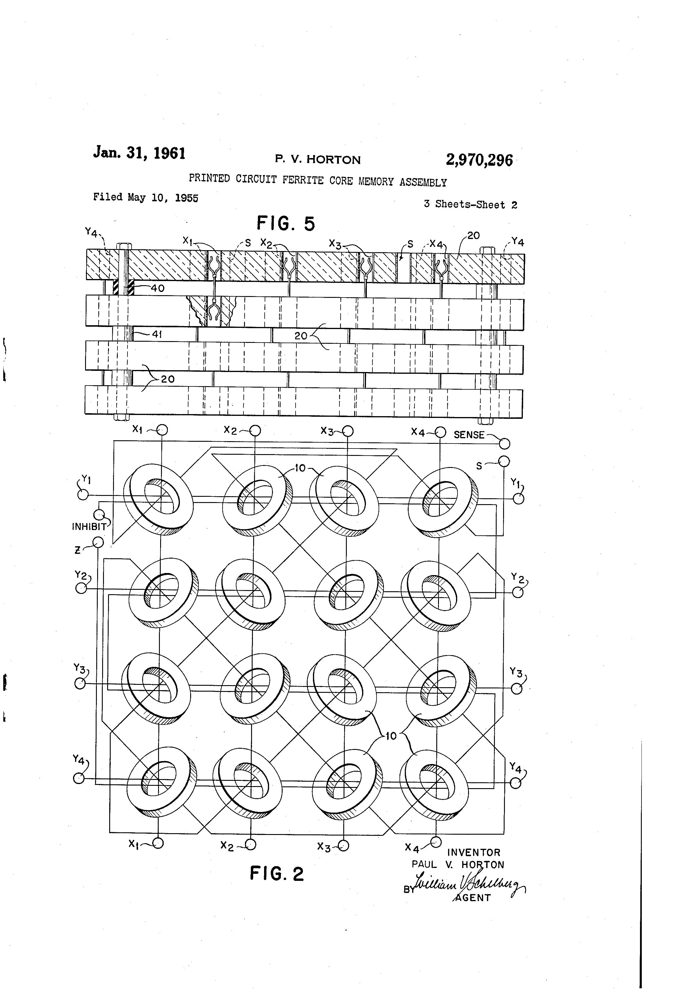 patent us2970296