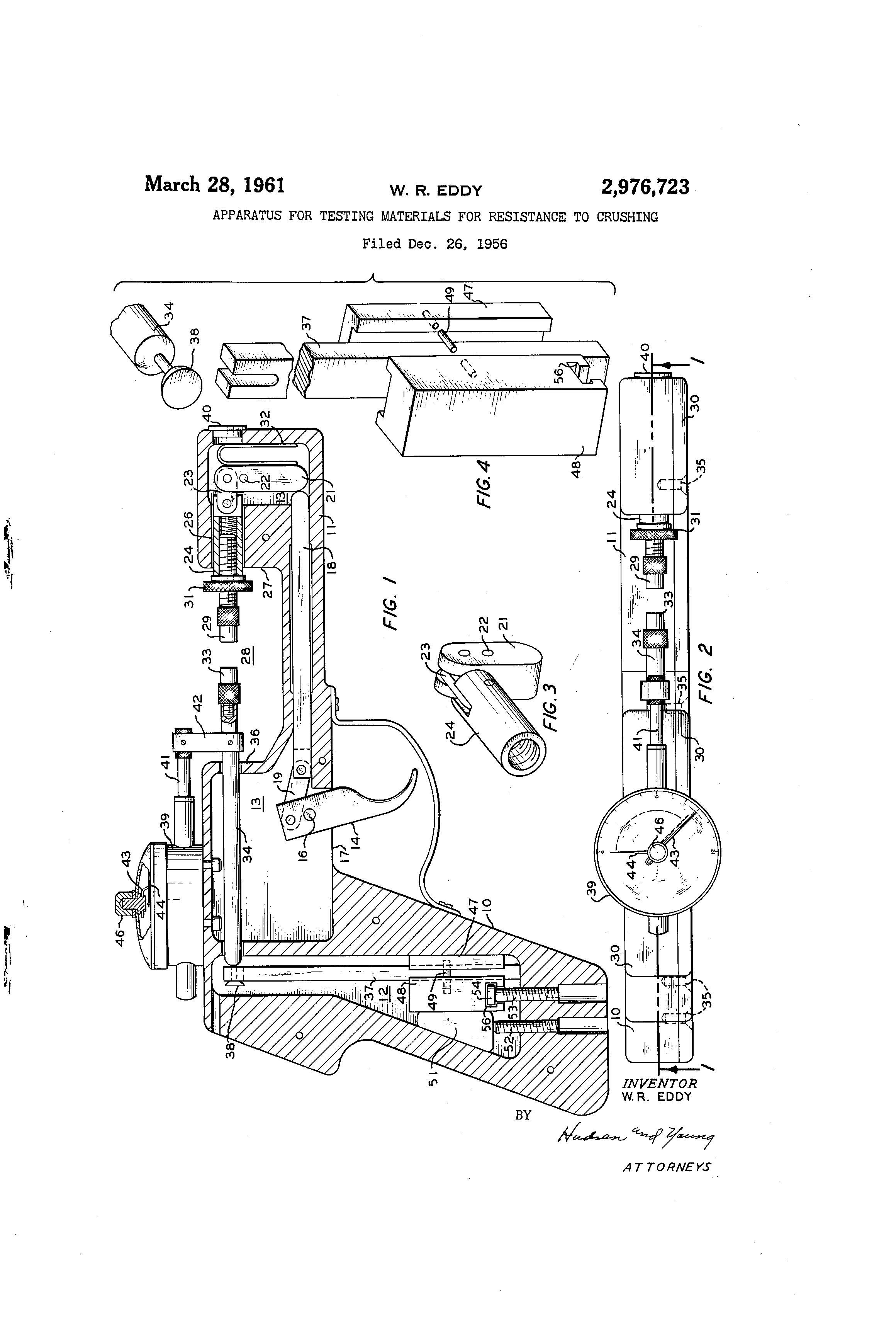 Resistance Tester Through Materials : Patent us apparatus for testing materials