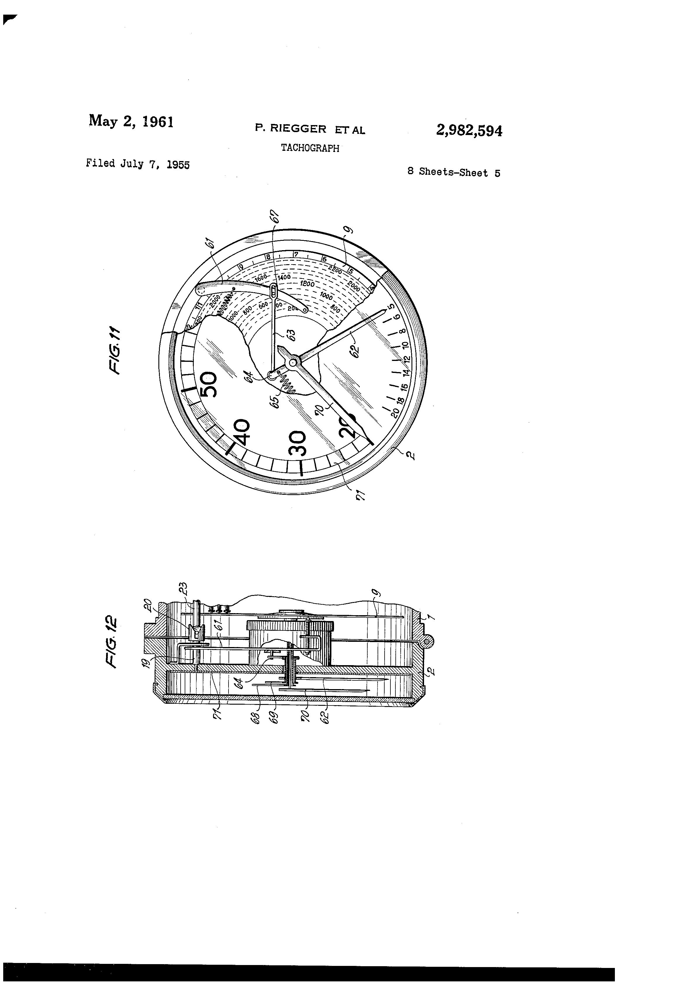 Patent Drawing  sc 1 th 272 : kienzle tachograph wiring diagram - yogabreezes.com