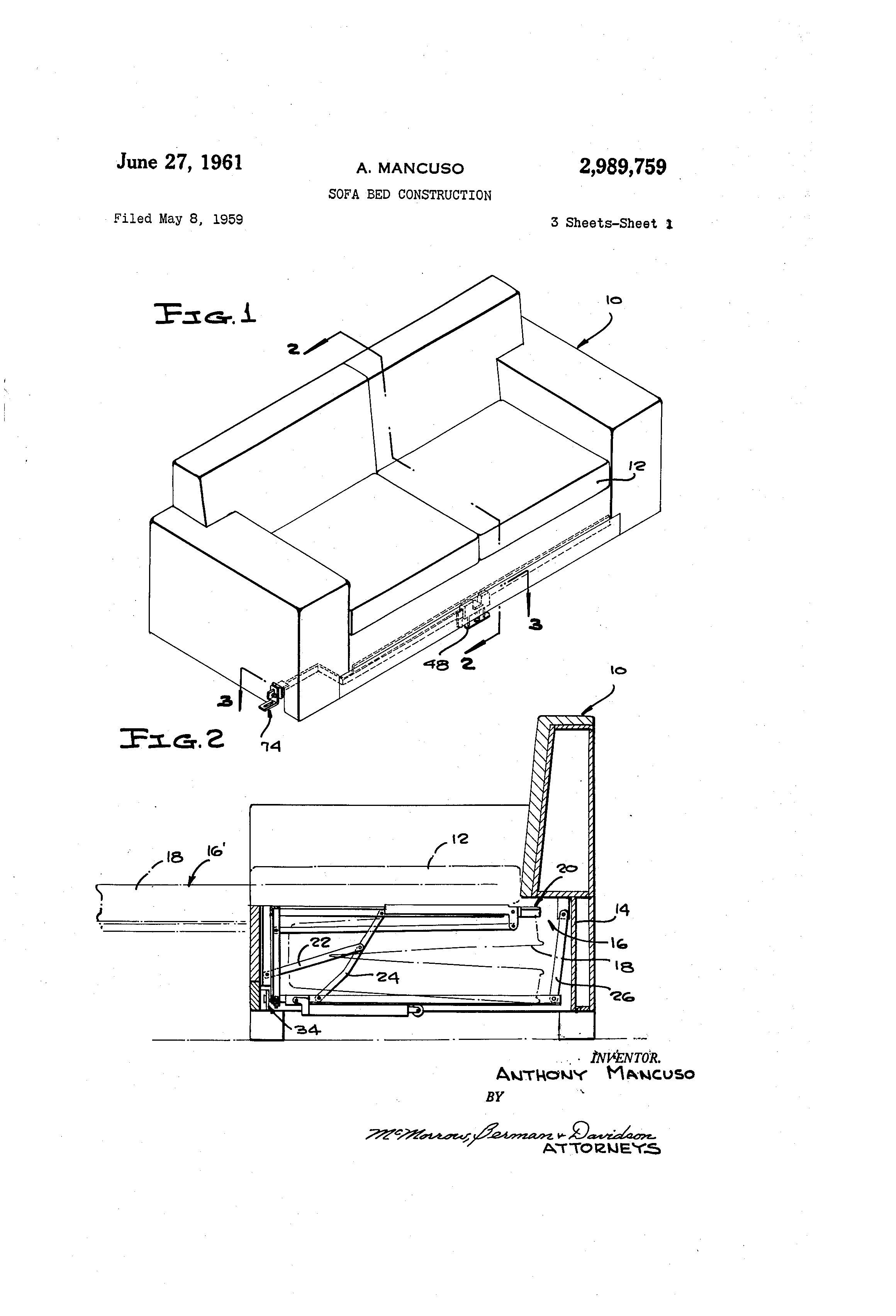 Patent Drawing  sc 1 st  Google : sofa sectional drawing - Sectionals, Sofas & Couches