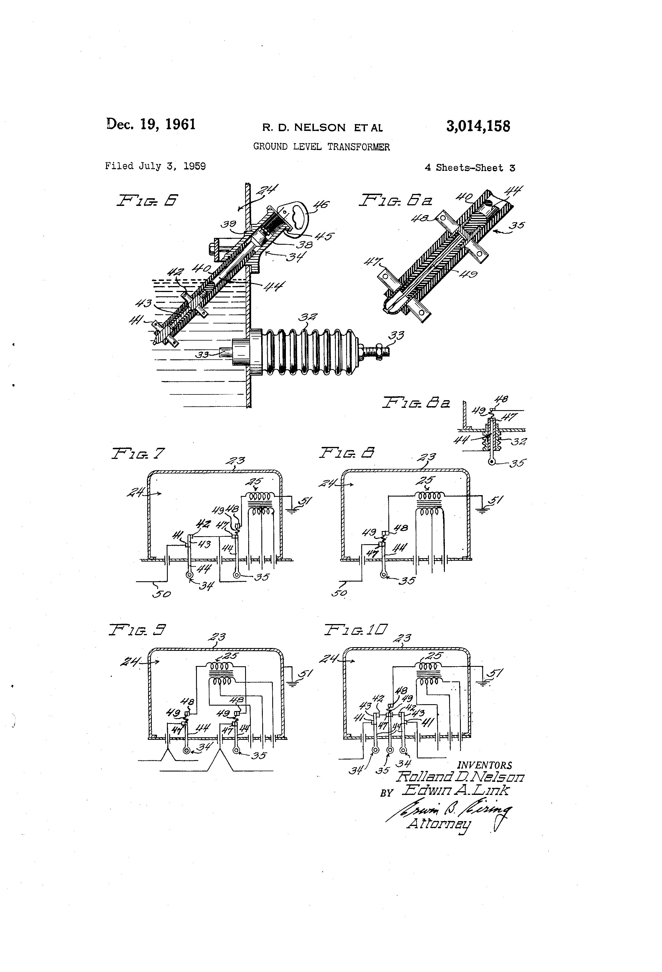 patent us ground level transformer patents patent drawing
