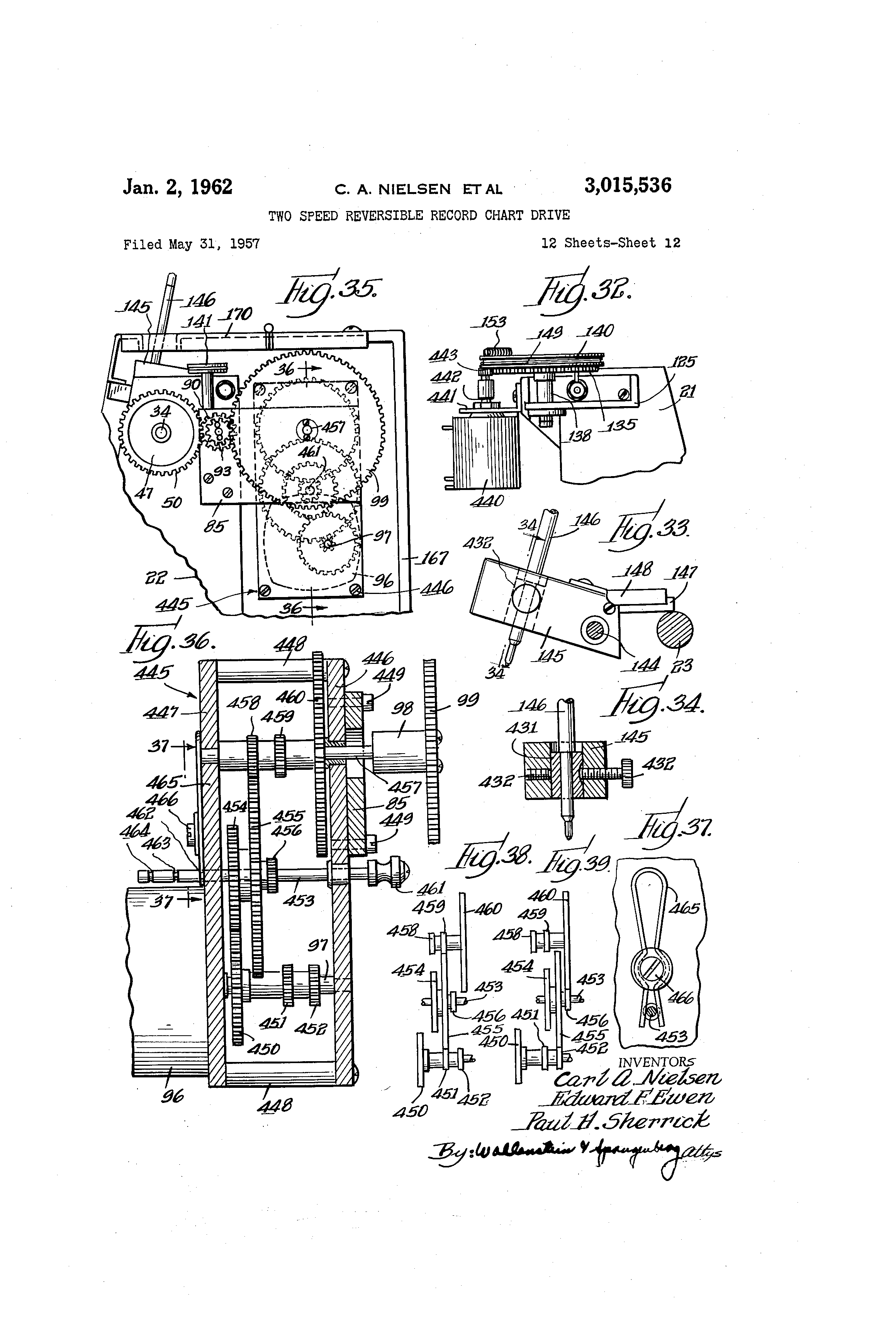US3015536 11 bodine motor wiring diagram kci 42 bodine electric motor wiring  at soozxer.org