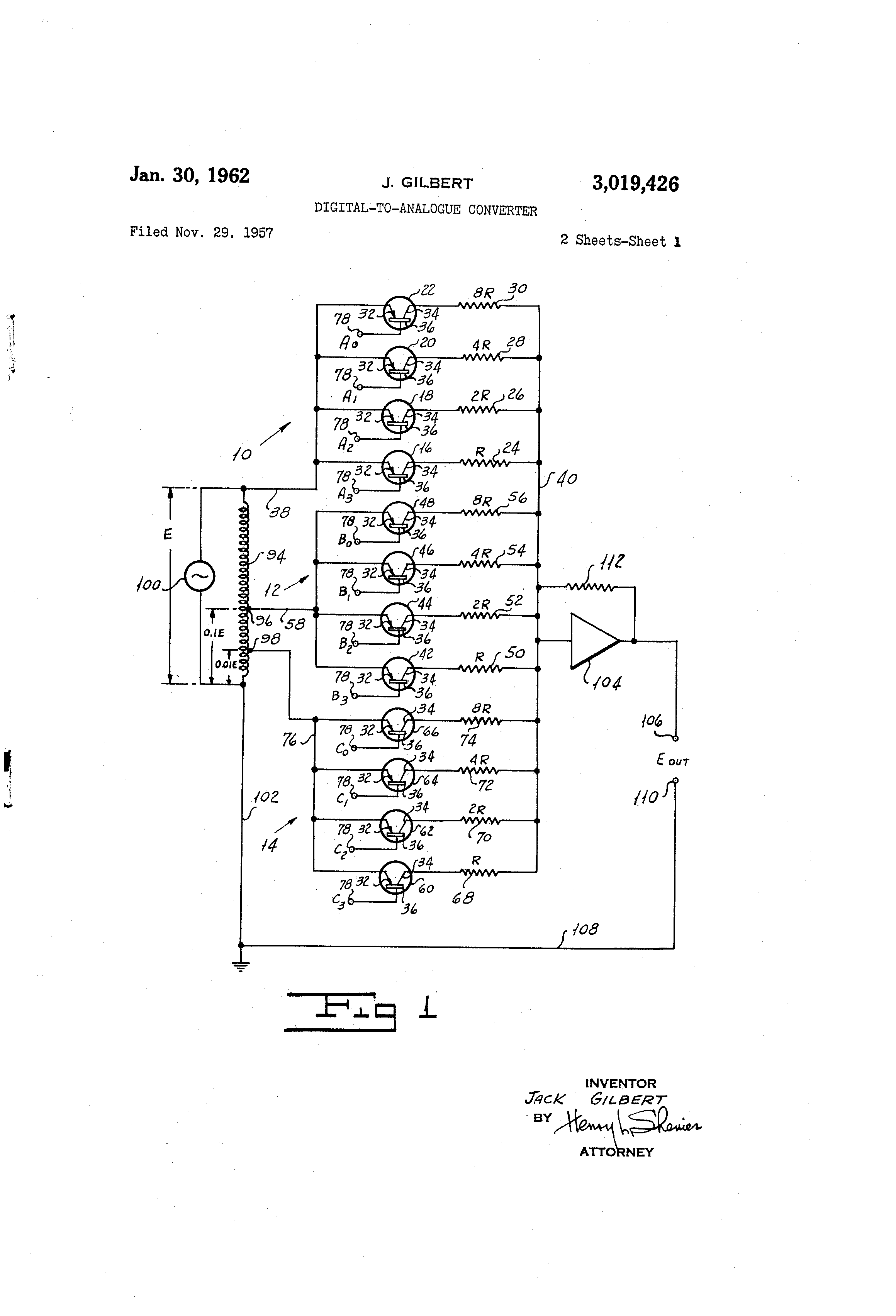 Digital To Analogue Converter