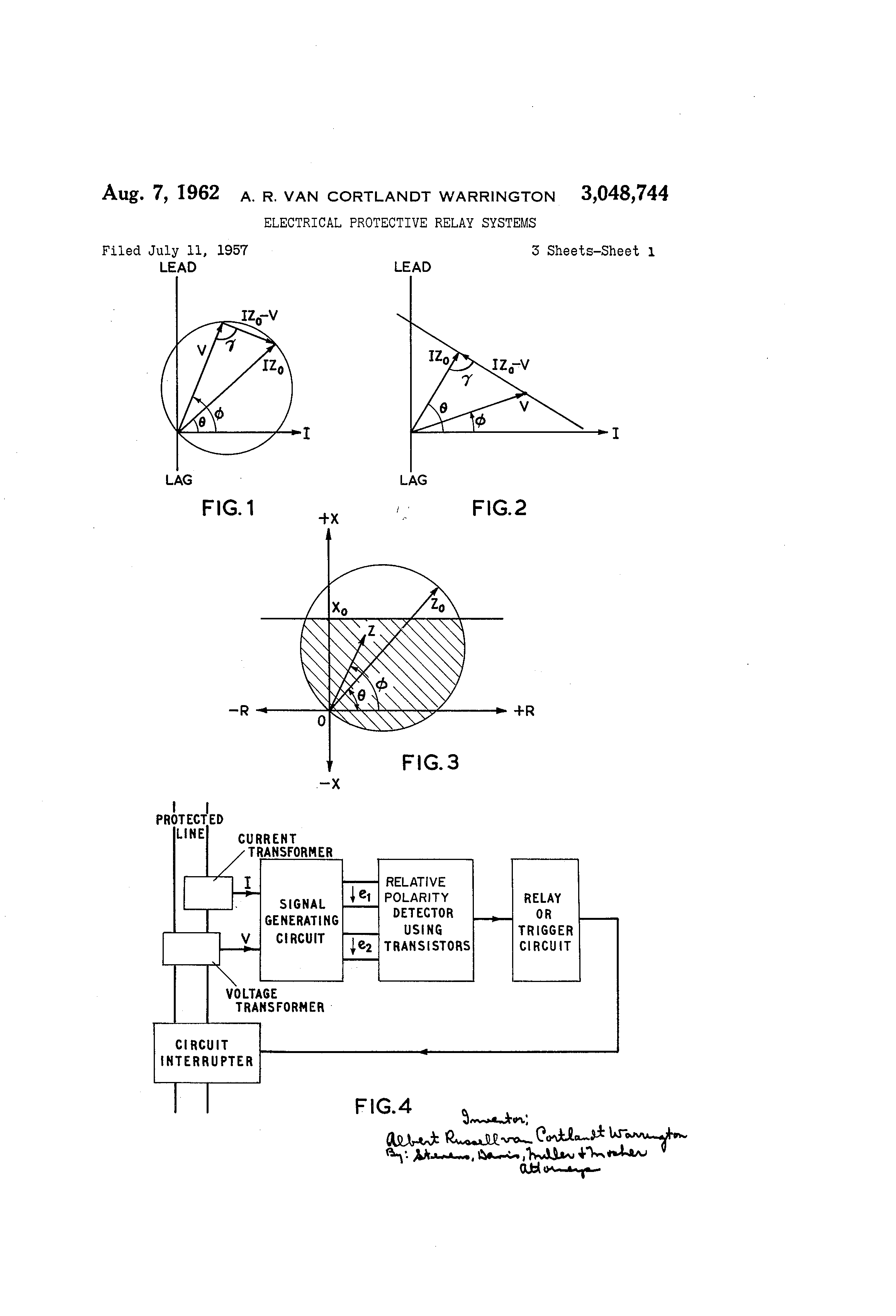 Patent US Electrical Protective Relay Systems Google - Static relay working principle