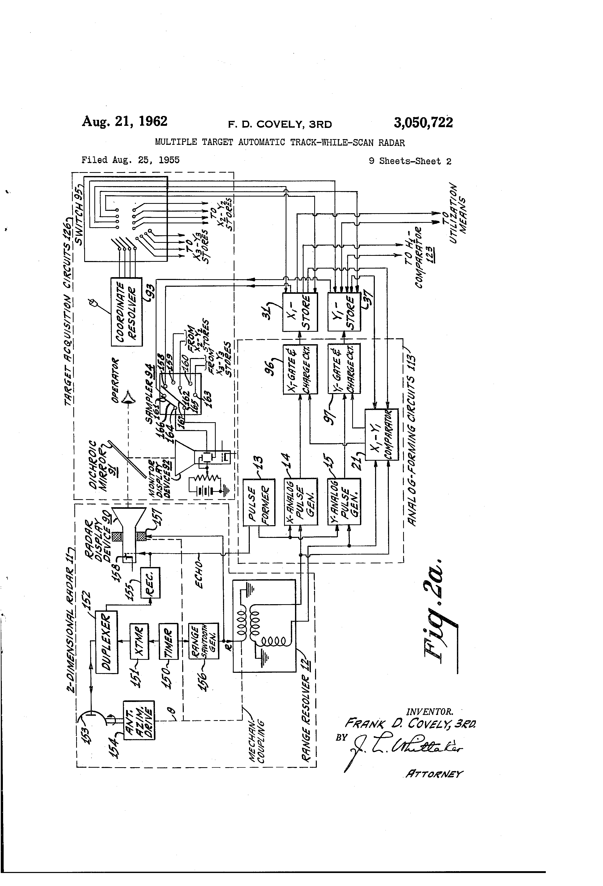 US3050722 1 ey john radar wiring diagram ey wiring diagrams collection  at n-0.co