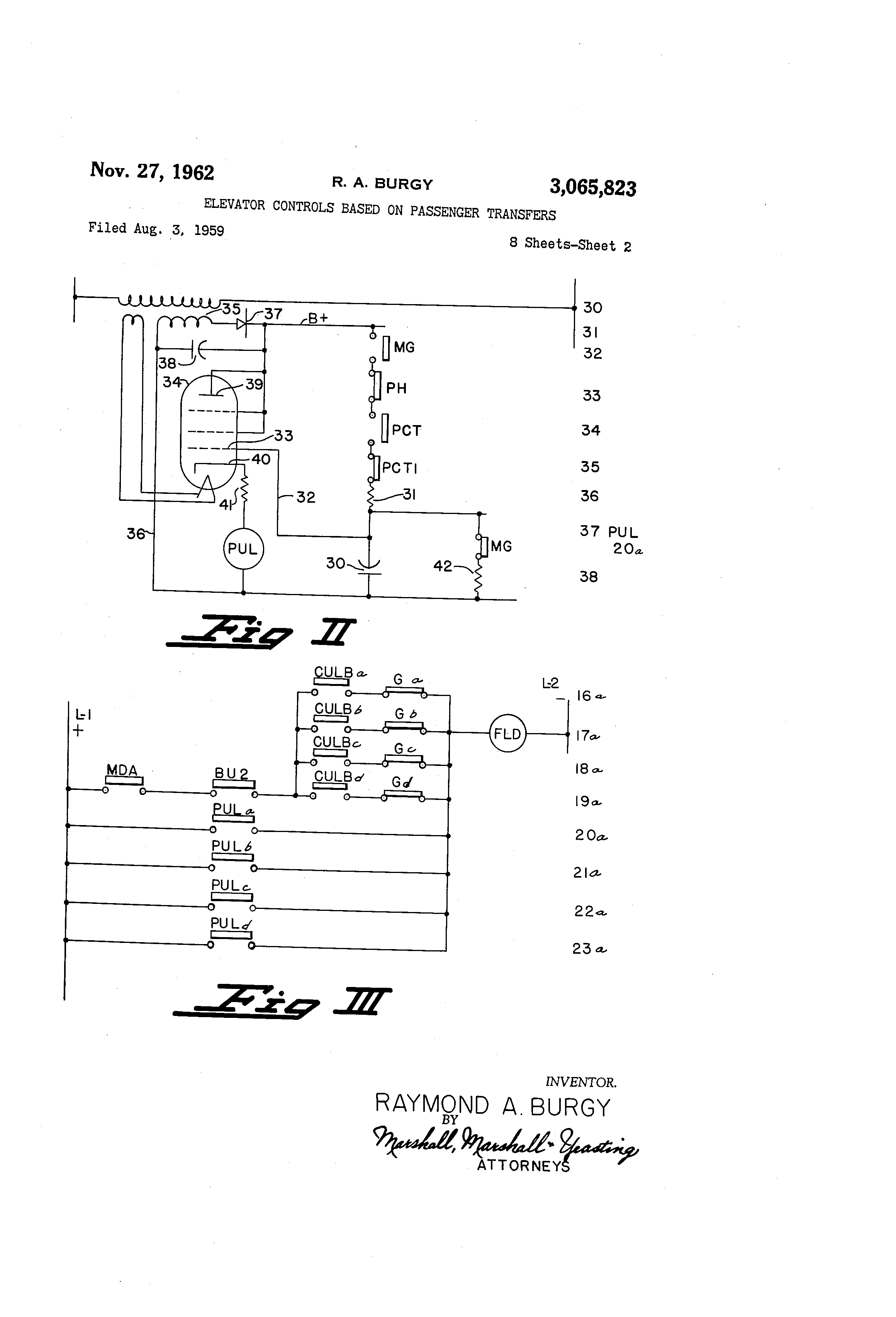 Patent US Elevator Controls Based On Passenger Transfers - Pla relay working principle