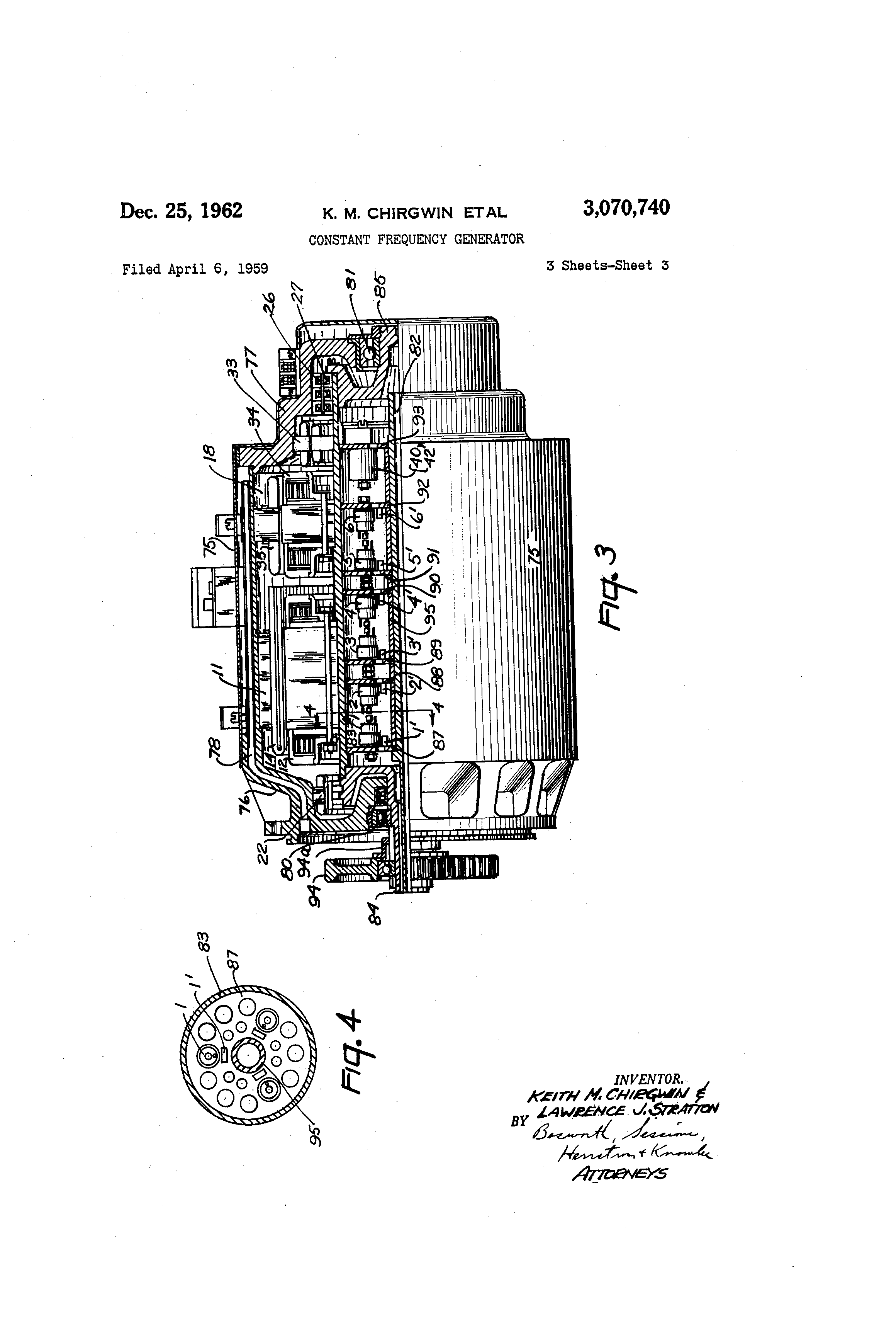 patent us3070740 constant frequency generator google patents patent drawing