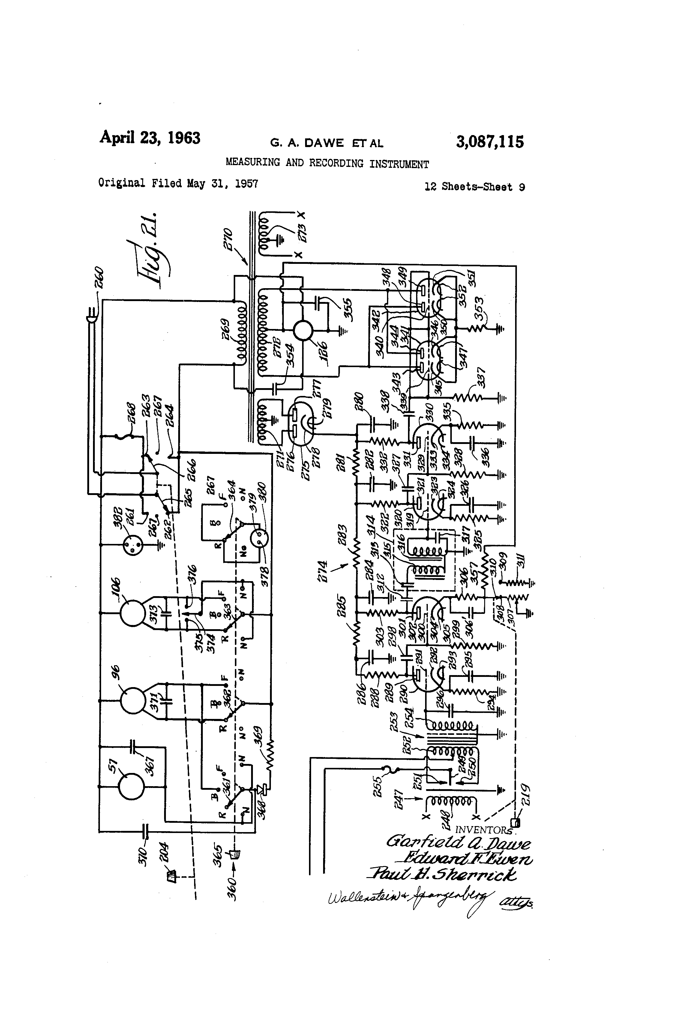 US3087115 8 bodine motor wiring diagram kci 42 bodine electric motor wiring  at soozxer.org