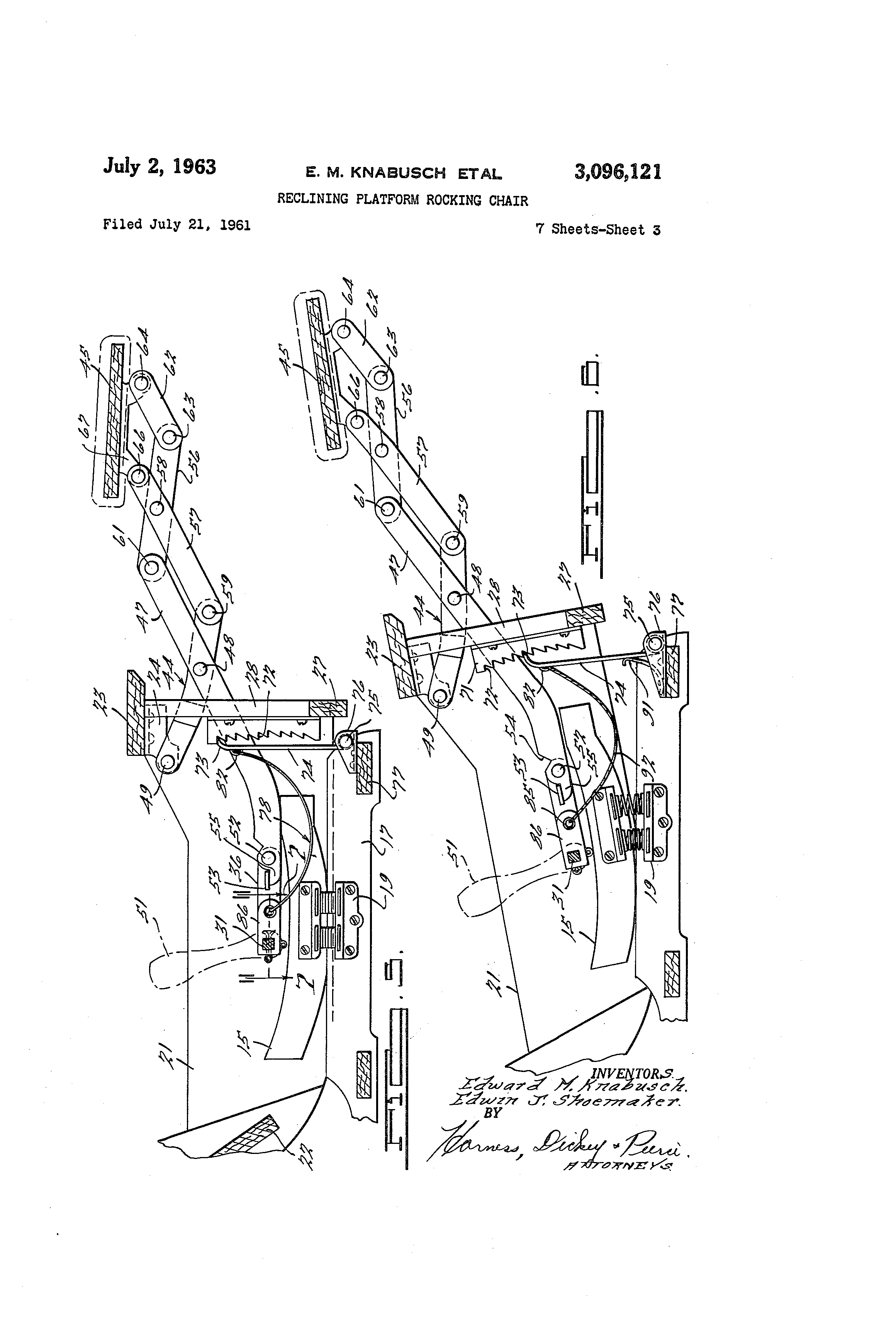 Patent Drawing  sc 1 st  Google : lazy boy recliner adjustment - islam-shia.org