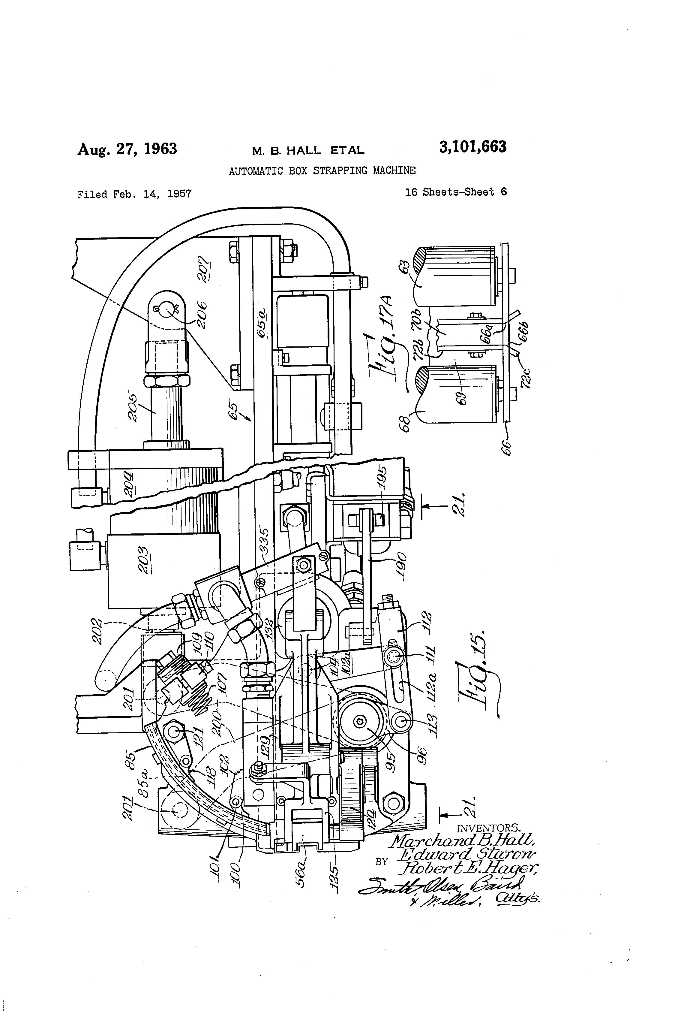US3101663 5 patent us3101663 automatic box strapping machine google patents acme piu wiring diagram at bakdesigns.co