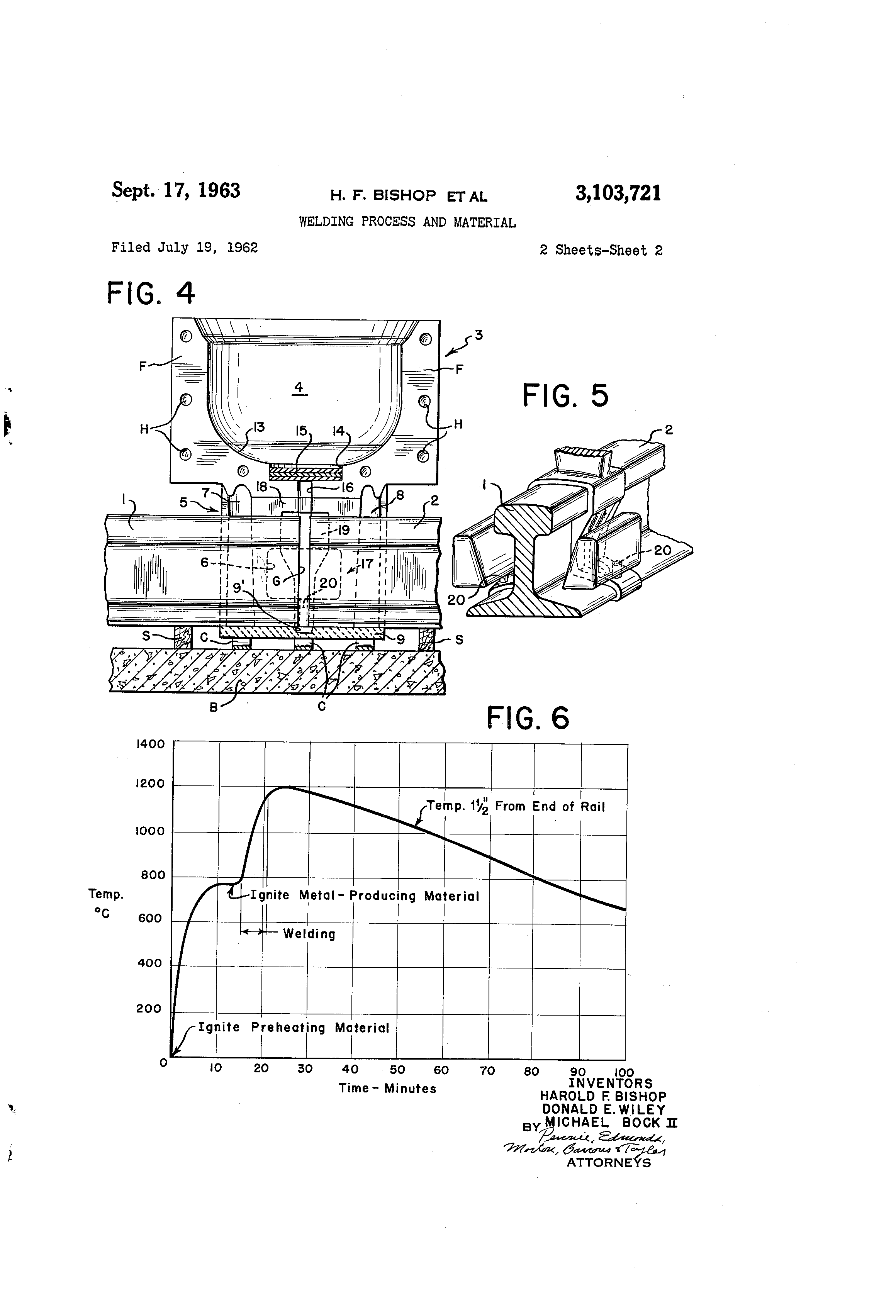 Patent Us3103721 Welding Process And Material Google Patents Diagram Of Drawing