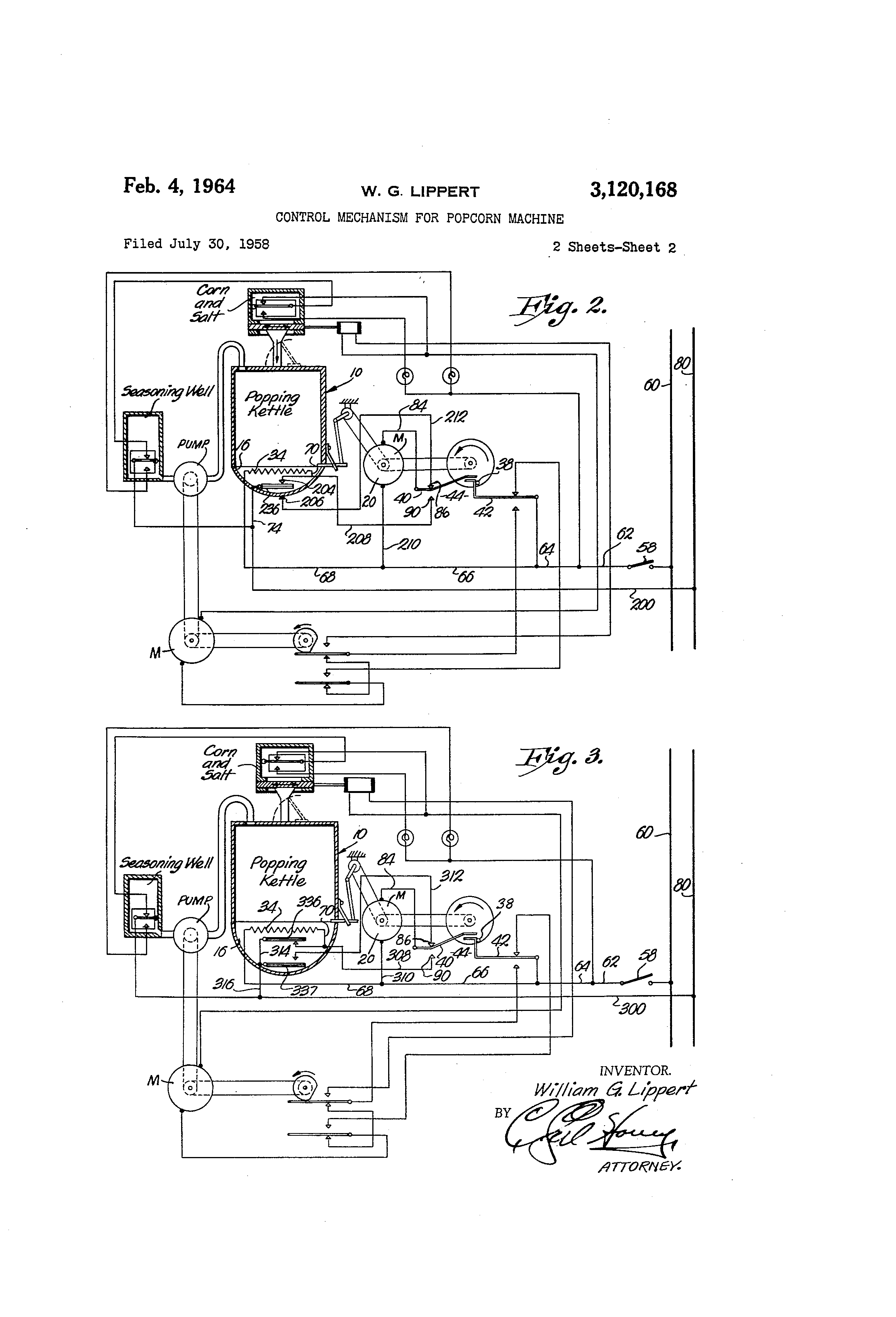 US3120168 1 gold medal popcorn machine wiring diagram gold wiring diagrams  at edmiracle.co
