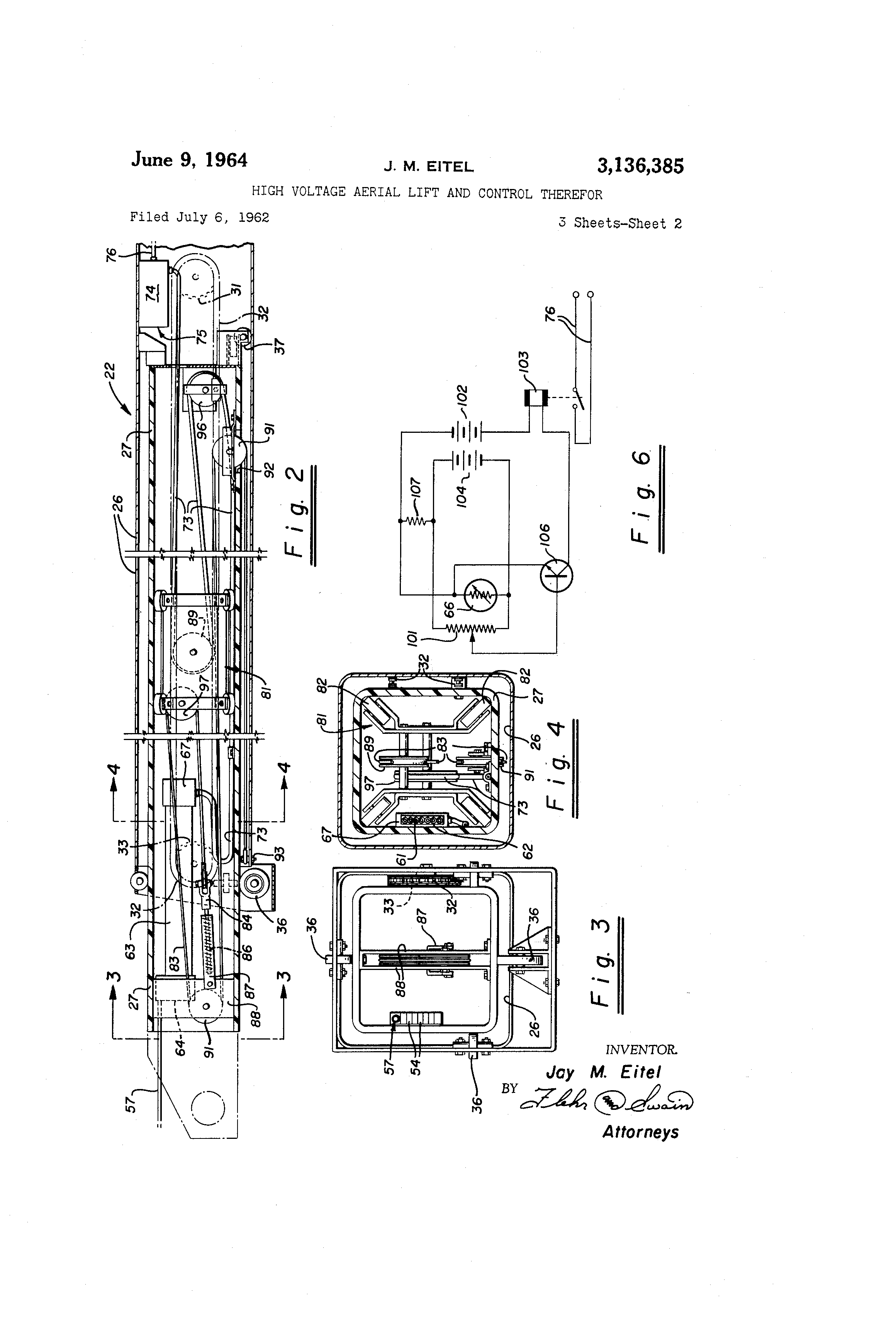 US3136385 1 telsta lift wiring diagram pioneer wiring diagram, kobelco wiring telsta a28d wiring diagram at mr168.co