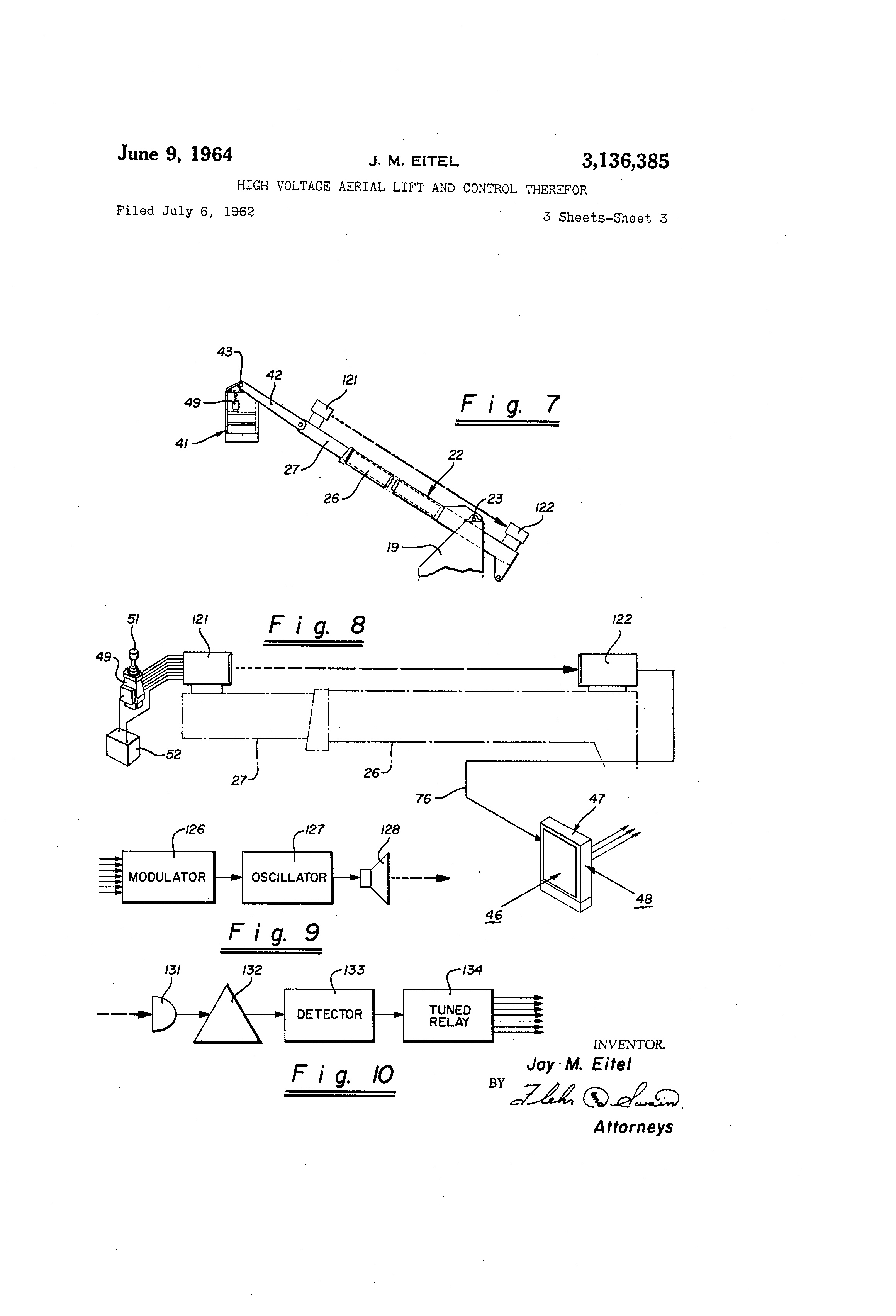US3136385 2 telsta lift wiring diagram pioneer wiring diagram, kobelco wiring telsta a28d wiring diagram at mr168.co