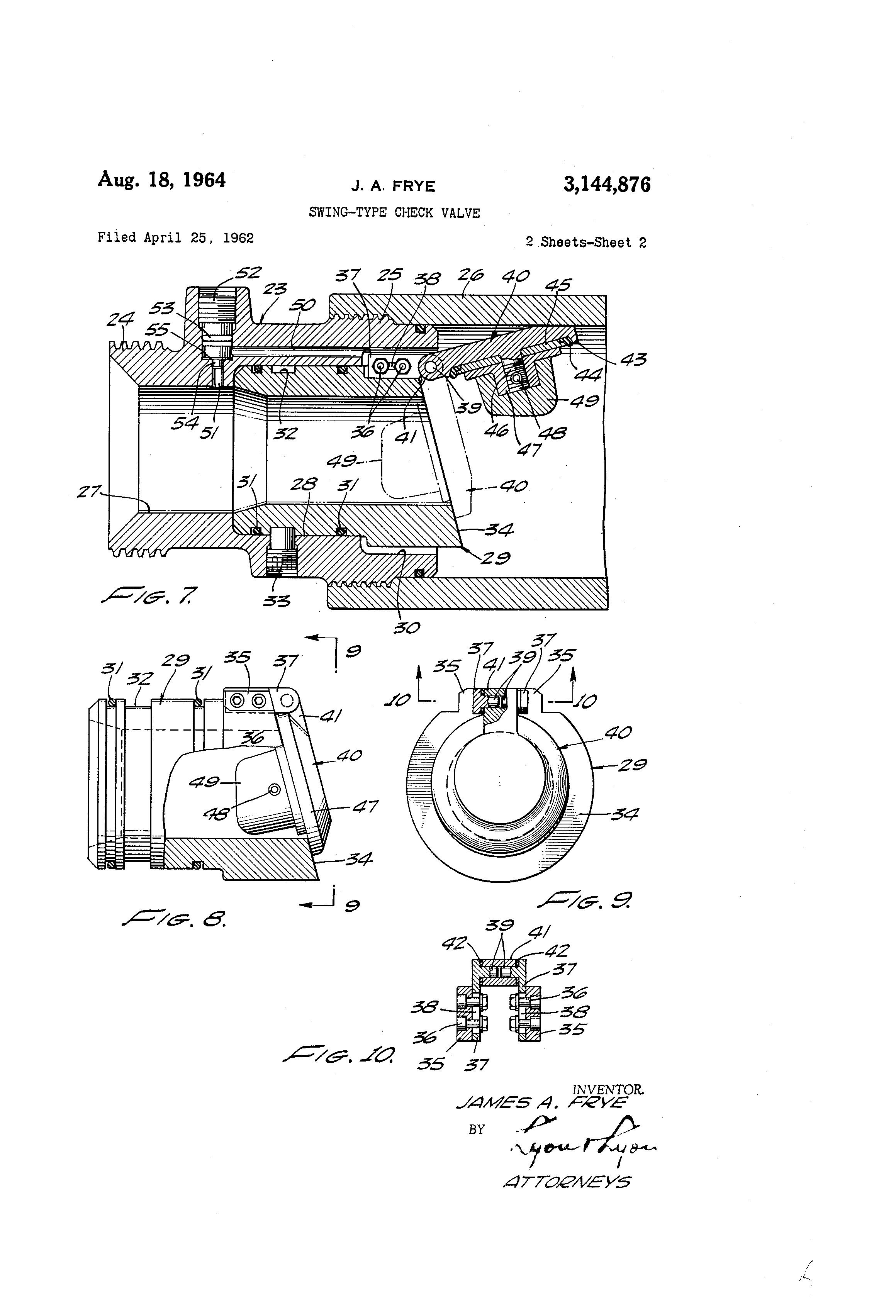 swing type check valve pdf