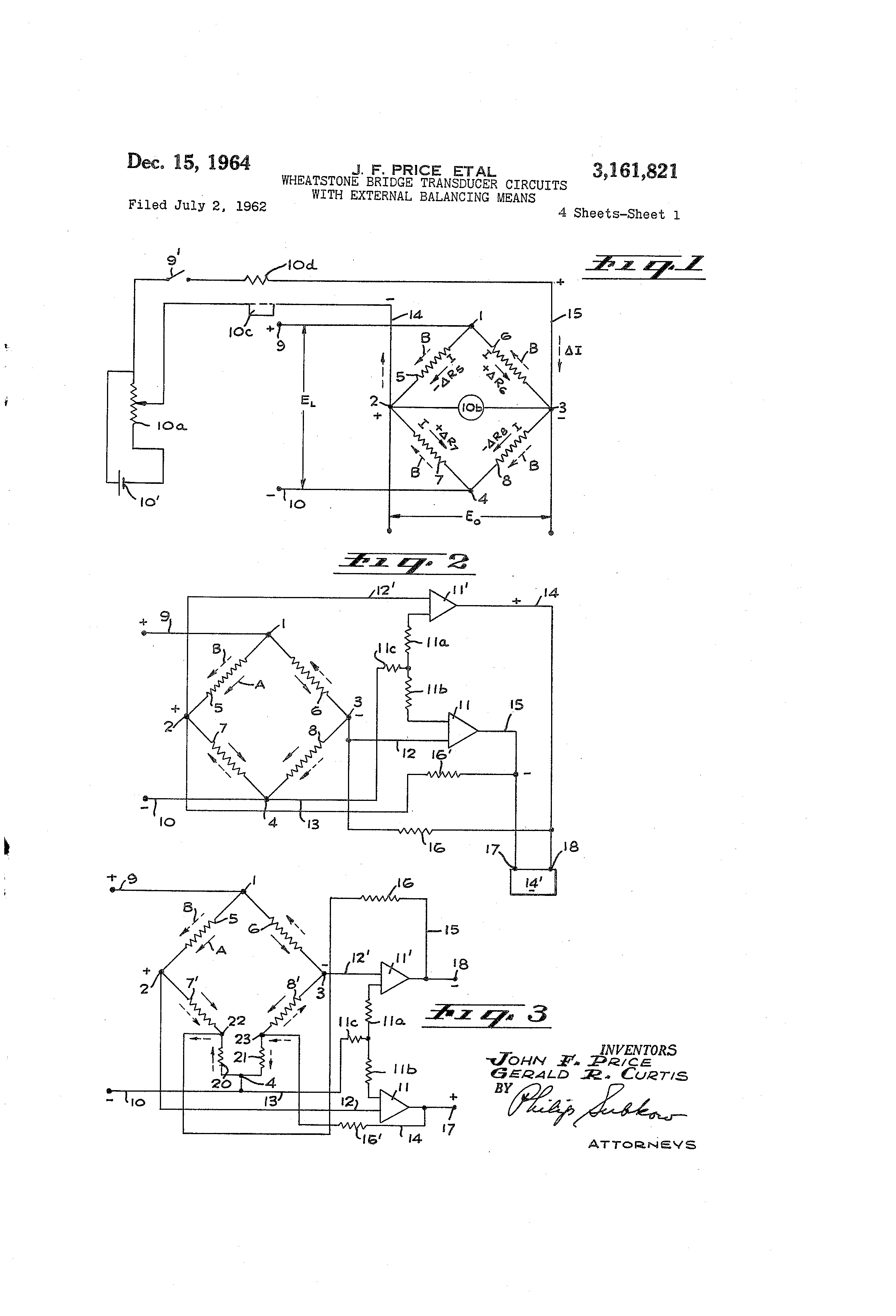 US3161821 0 patent us3161821 wheatstone bridge transducer circuits with circuit diagram for wheatstone bridge at edmiracle.co
