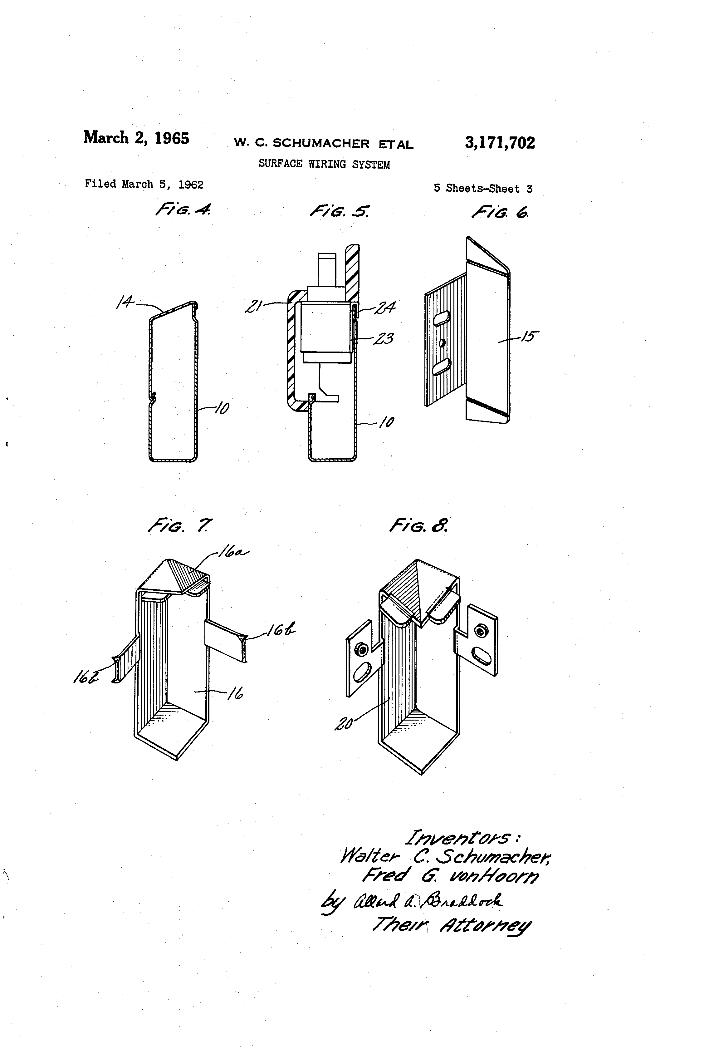 patent us3171702 - surface wiring system