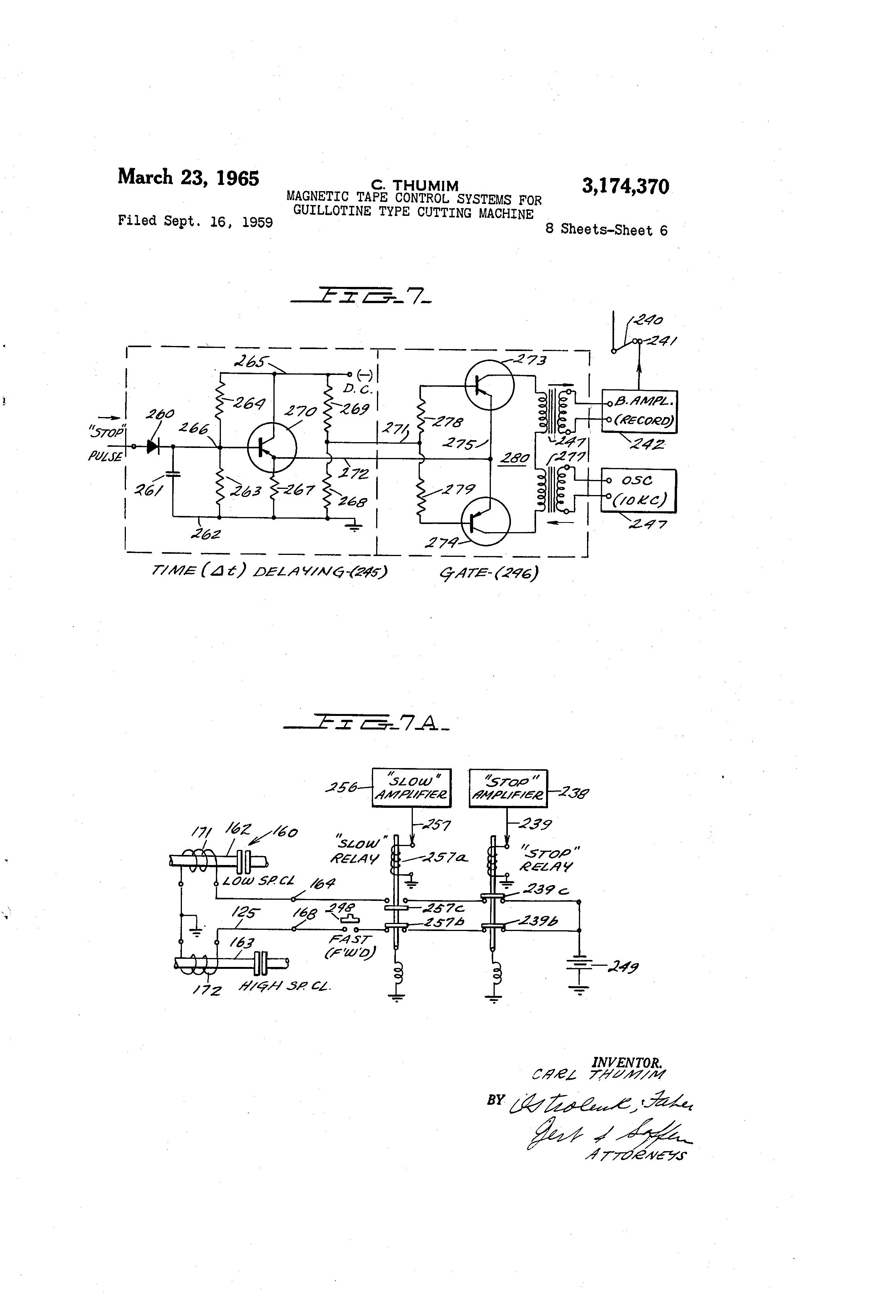Patent Us3174370
