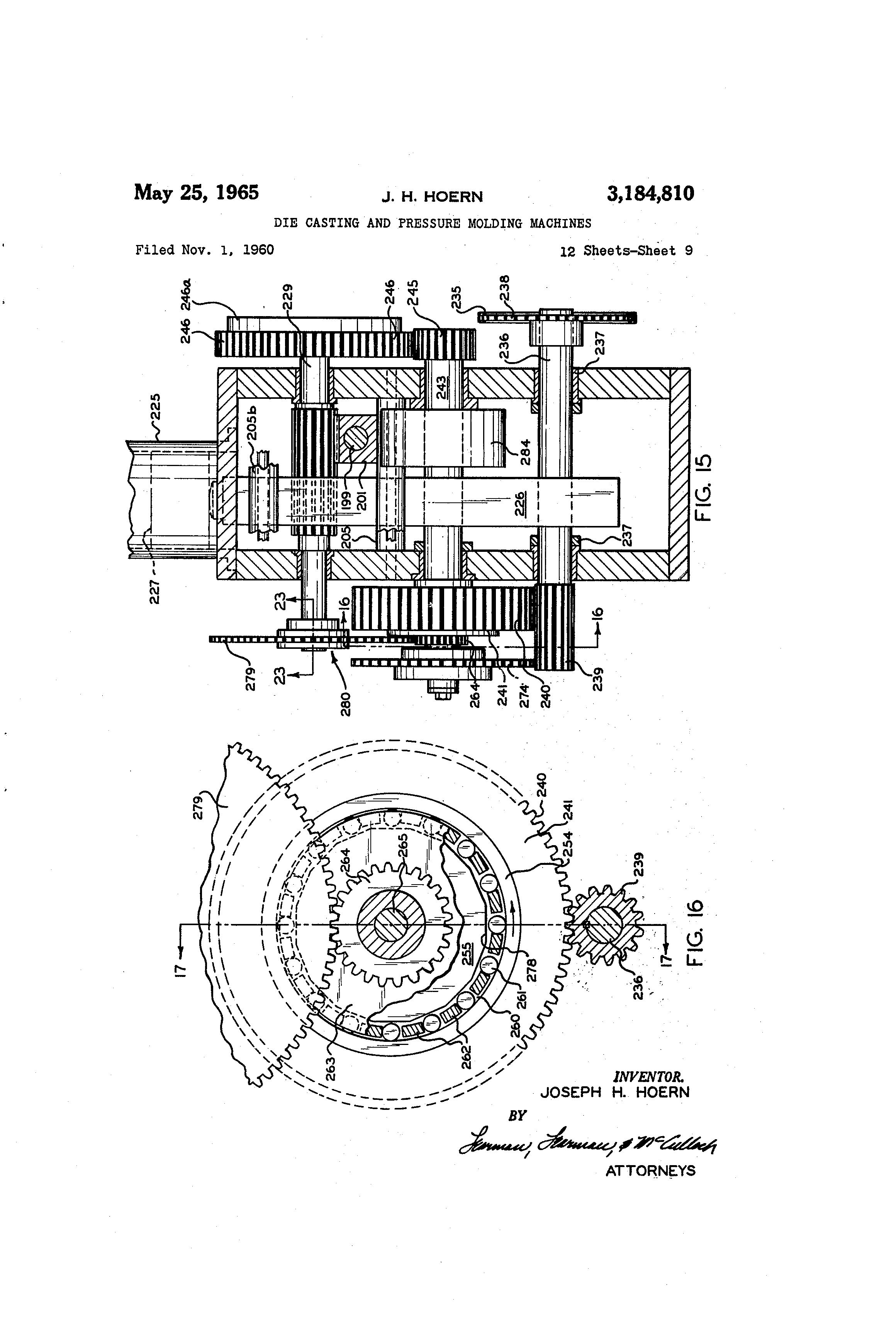 1960 impala wiring diagram patent us3184810 die casting and pressure molding