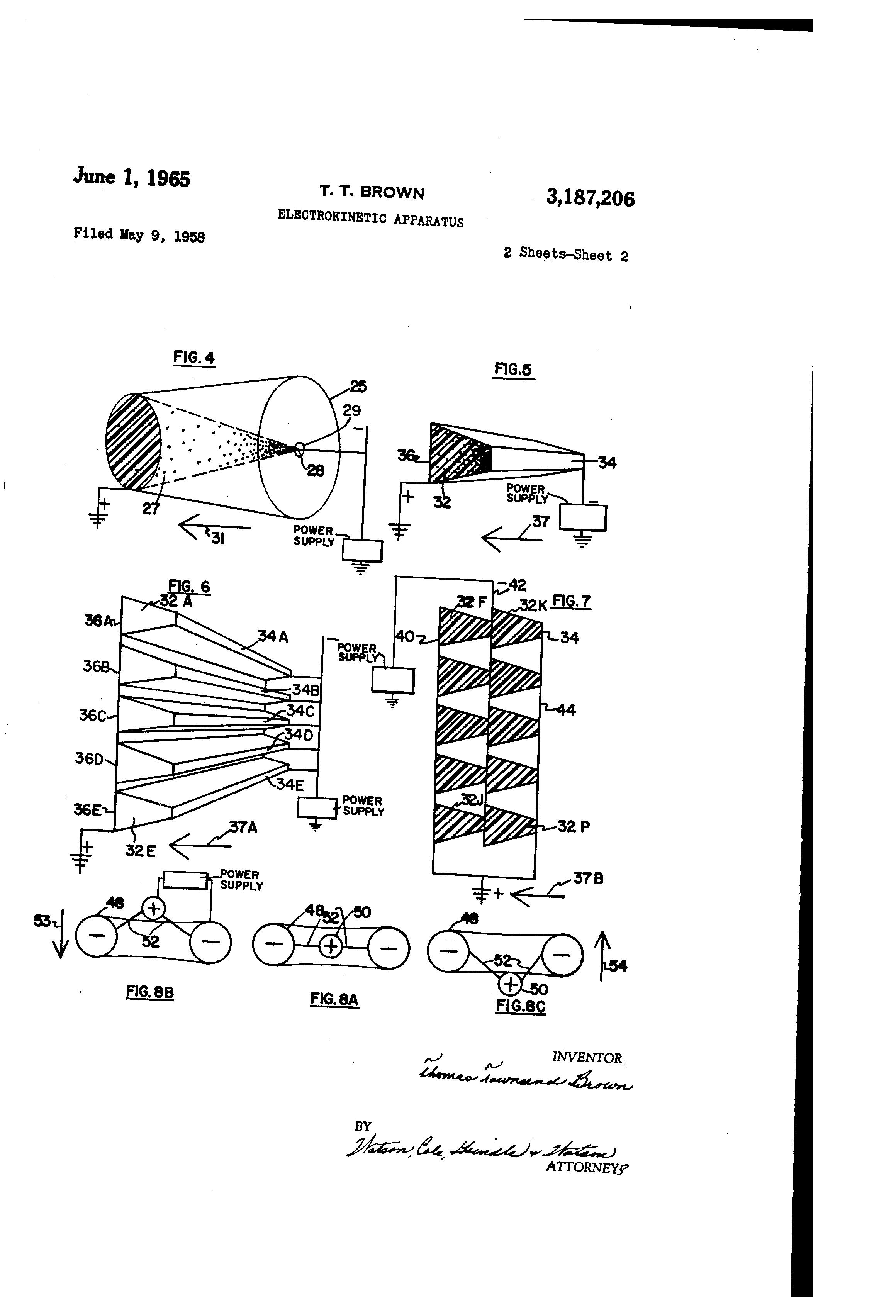 patent us3187206 - electrokinetic apparatus