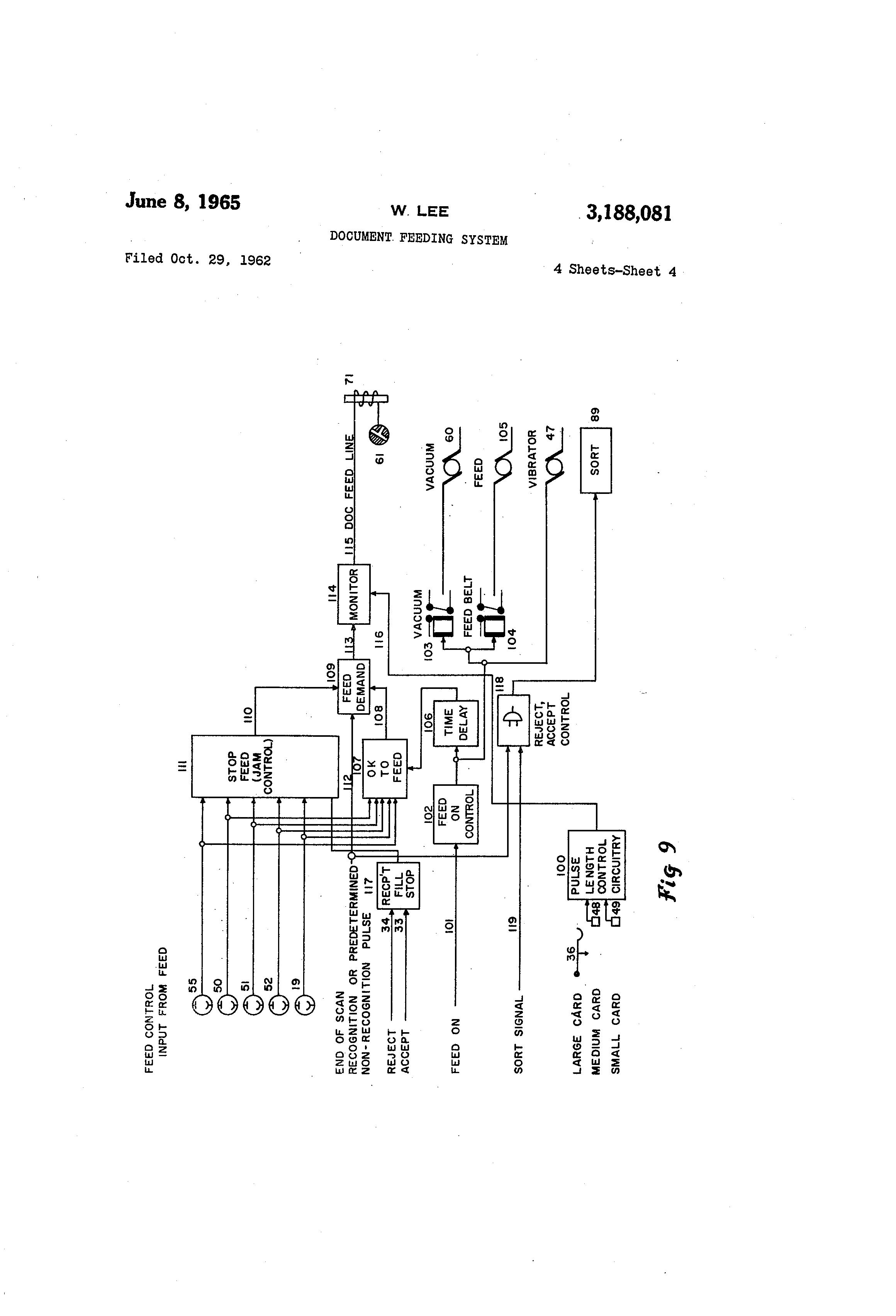 Patente US3188081 - Doent feeding system - Google Patentes