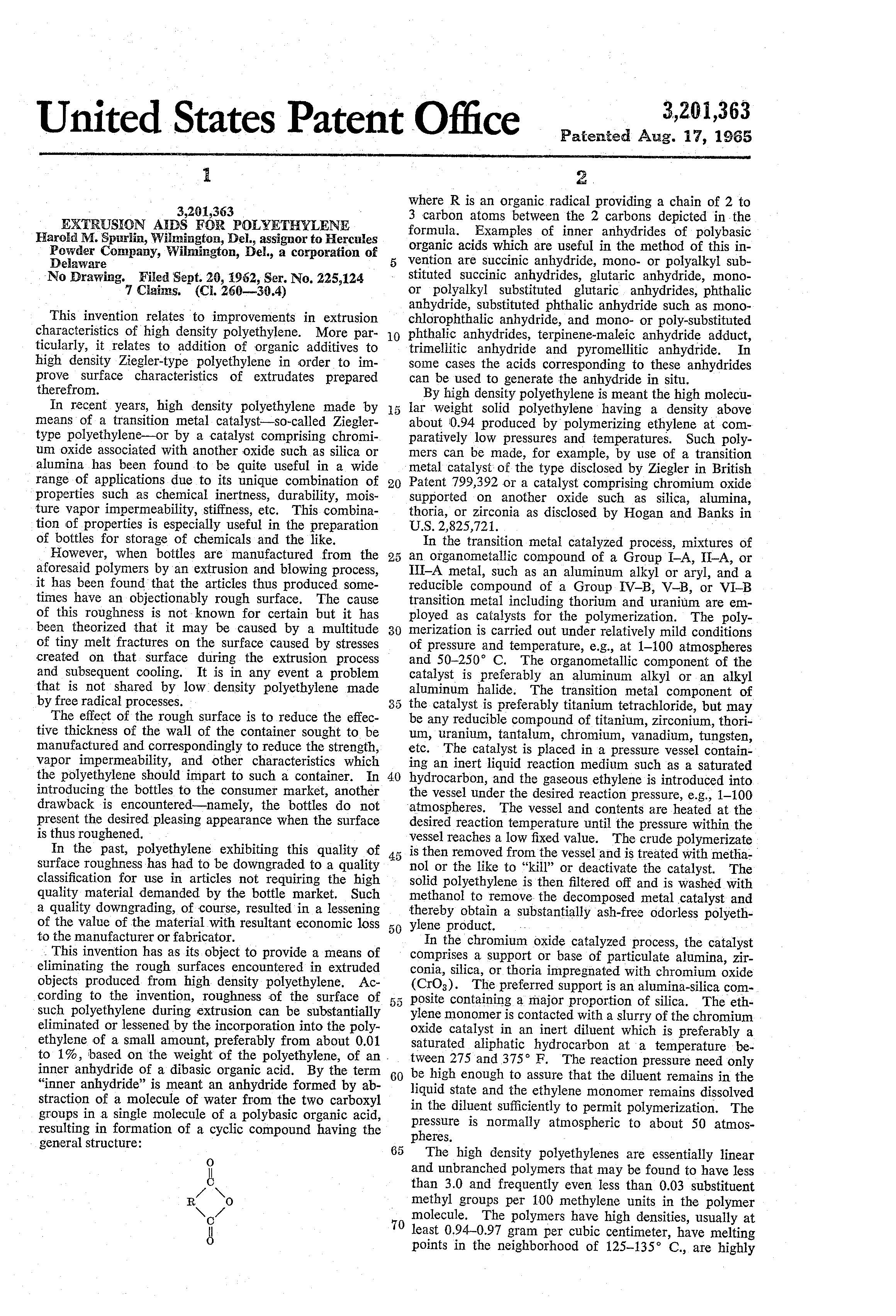 Aids Us Patent