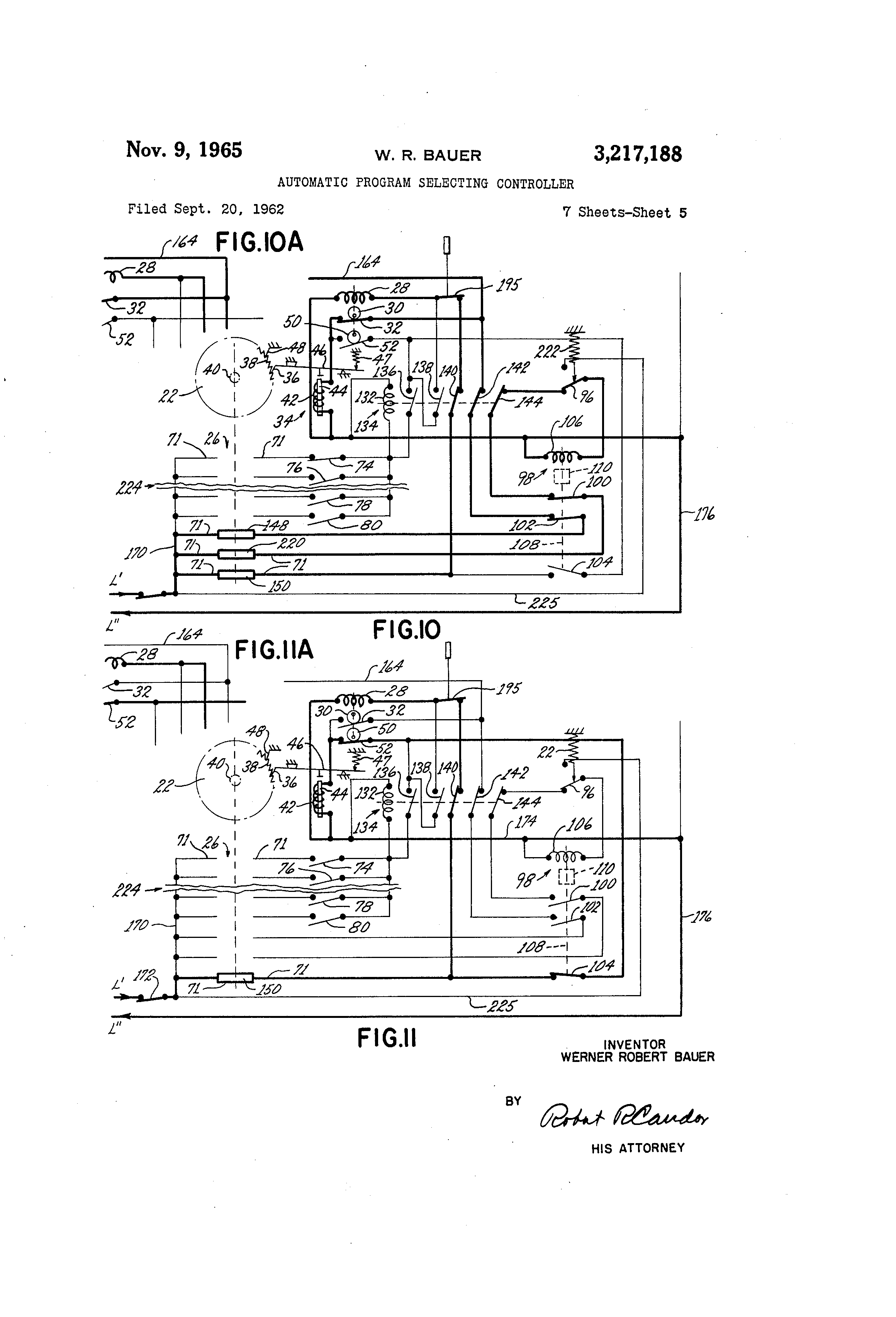 US3217188 4 patent us3217188 automatic program selecting controller google u 94a u wiring diagram at reclaimingppi.co