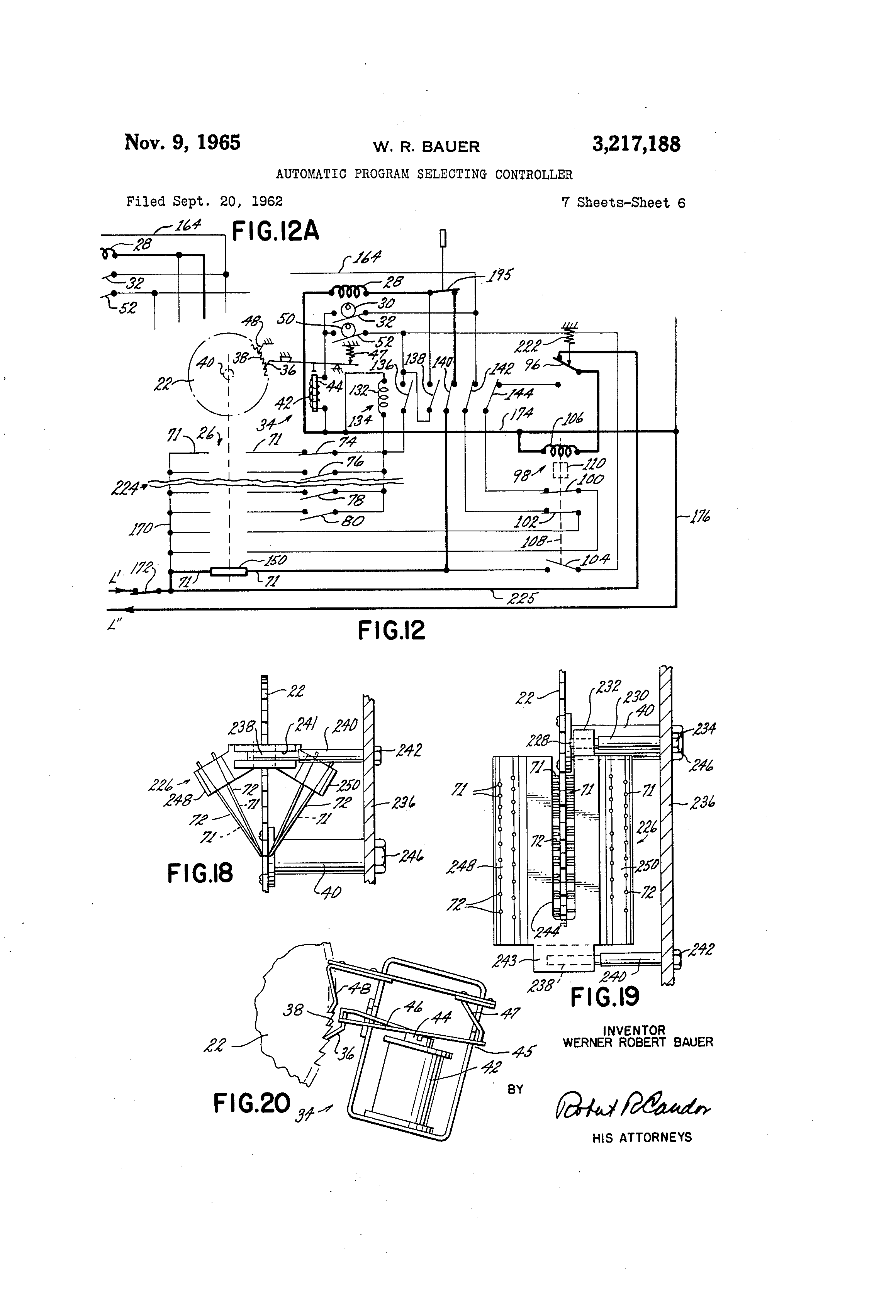 US3217188 5 diagrams 1000496 rugged ptt wiring diagram aeroelectric u-92a/u wiring diagram at bayanpartner.co
