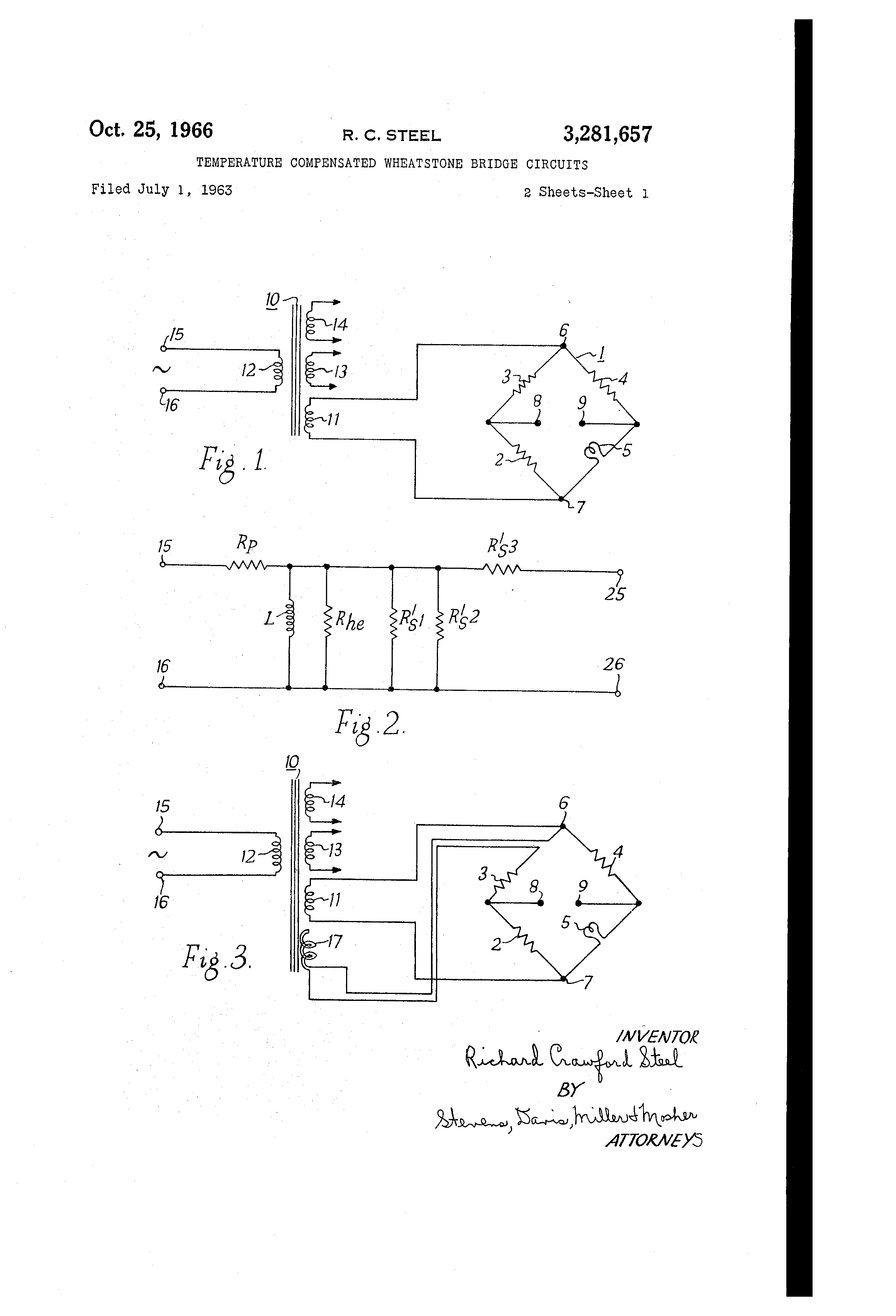 US3281657 0 patent us3281657 temperature compensated wheatstone bridge circuit diagram wheatstone bridge at eliteediting.co