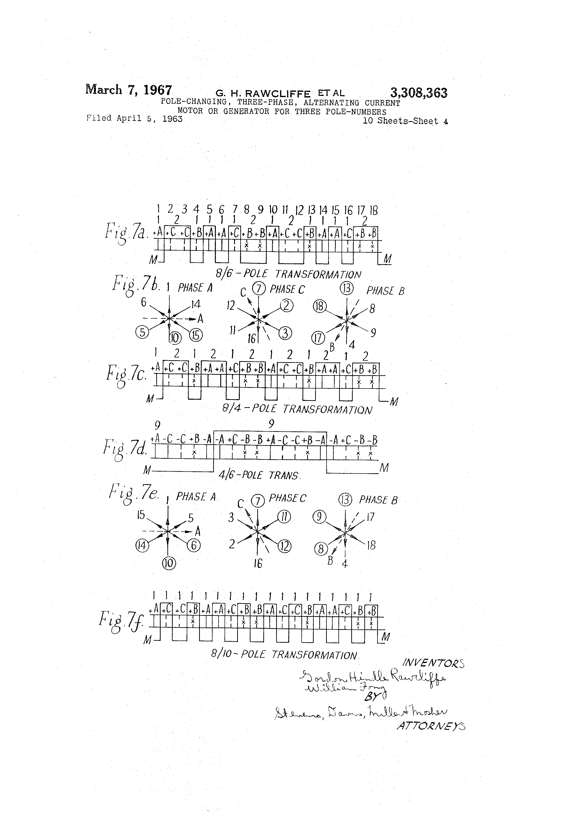 Uncategorized Percent Actual And Theoretical Yield Worksheet patent us3308363 pole changing three phase alternating current drawing