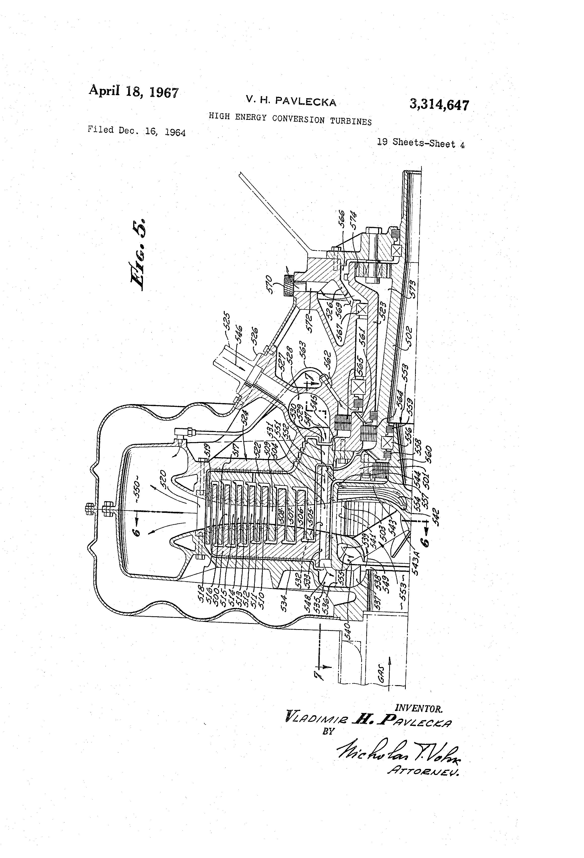 Patent US High energy conversion turbines Google Patents