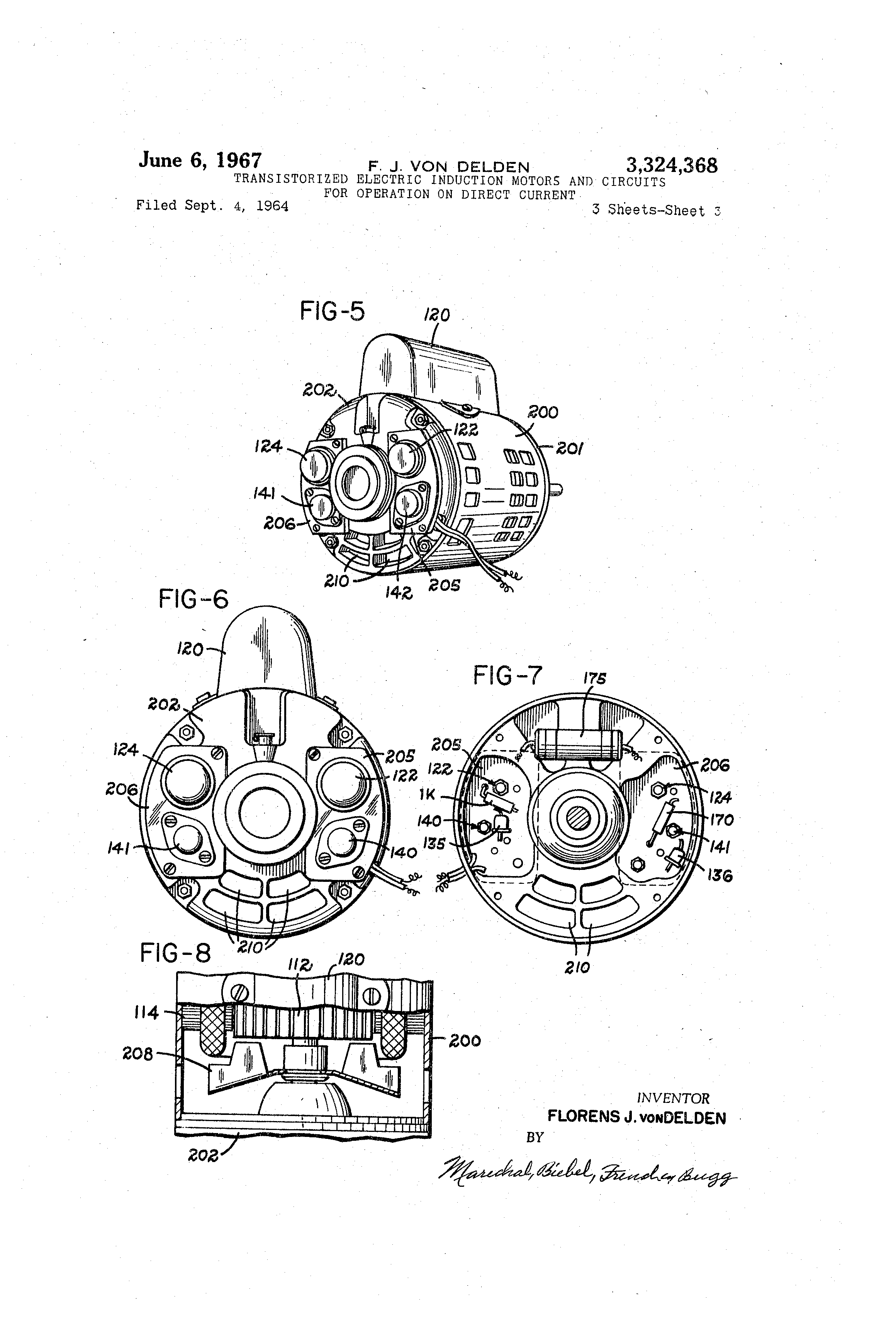 US3324368 2 patent us3324368 transistorized electric induction motors and robbins and myers fan motor wiring diagram at mifinder.co